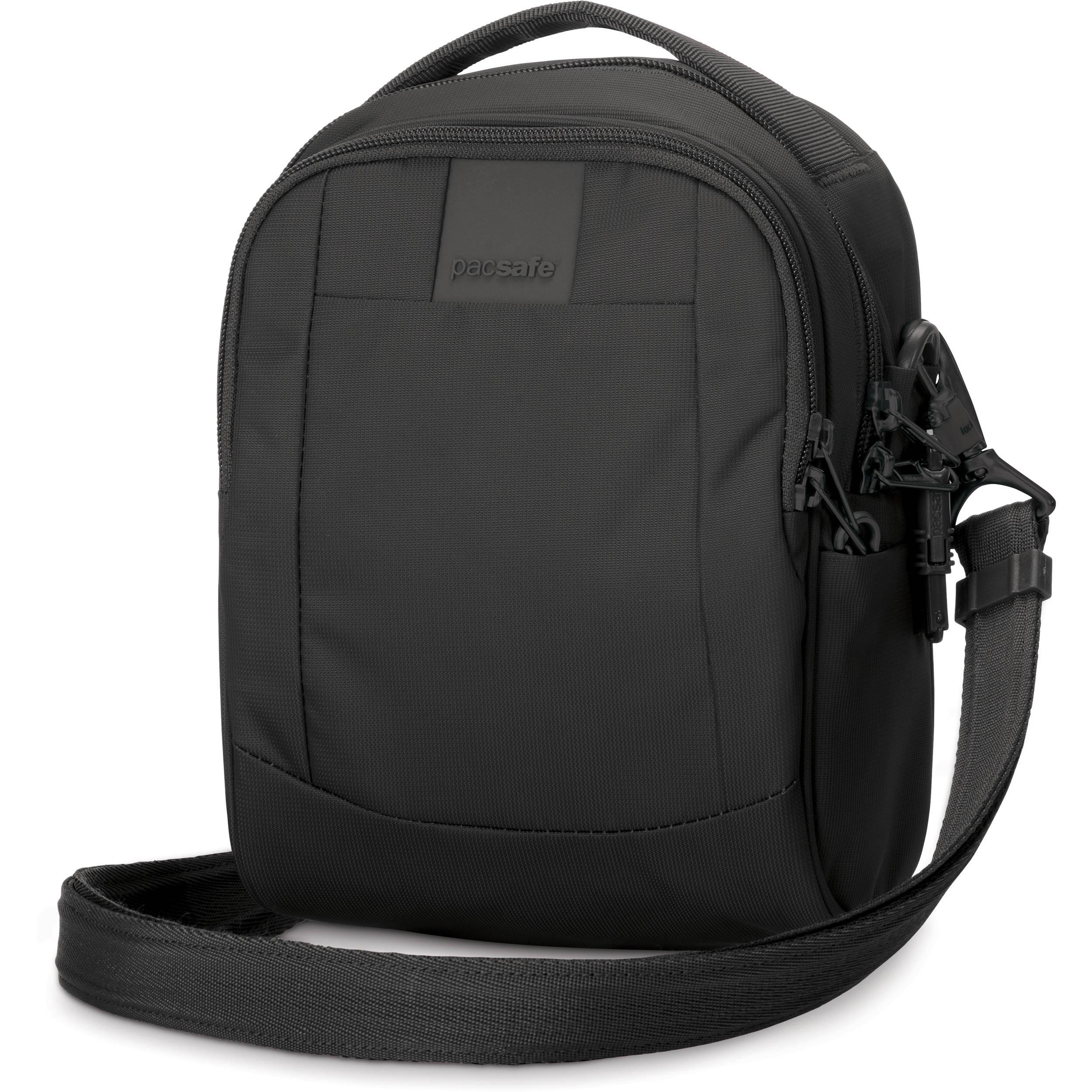 Pacsafe Metrosafe Ls100 Anti Theft Cross Body Bag 30400100 Bh Notebook Protector Black