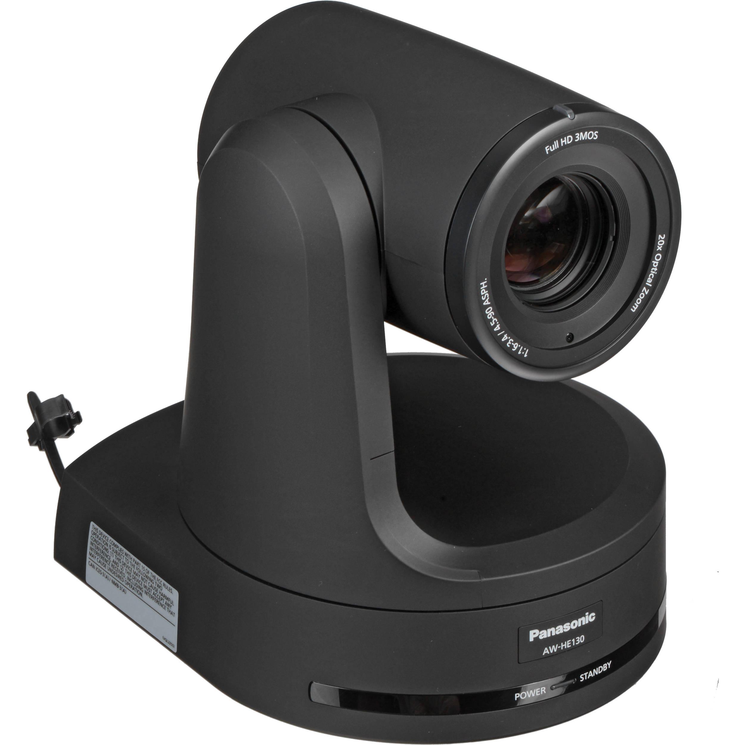 Panasonic AW-HE130 HD Integrated Camera (Black) AW-HE130KPJ B&H