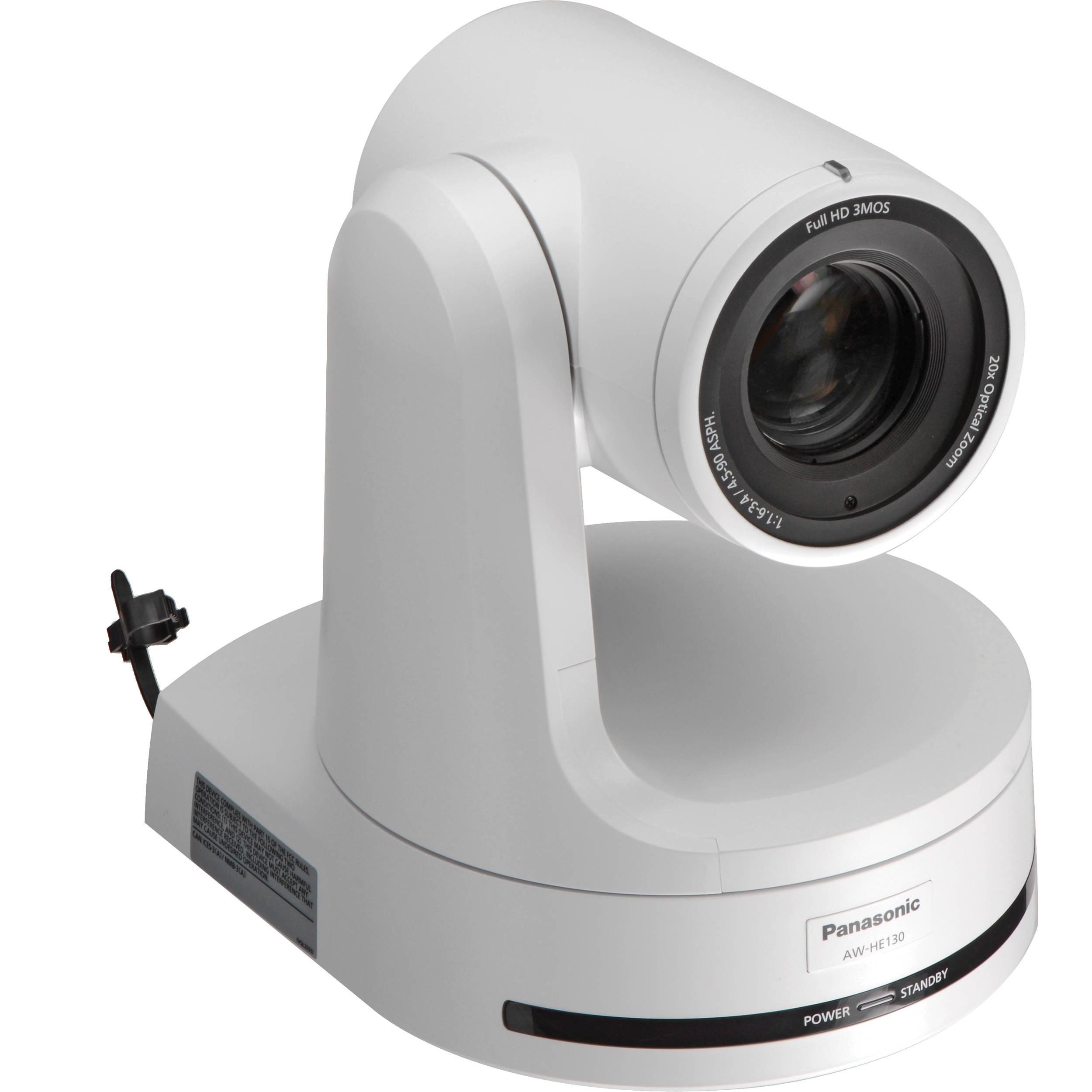 Panasonic Aw He130 Hd Integrated Camera White Aw