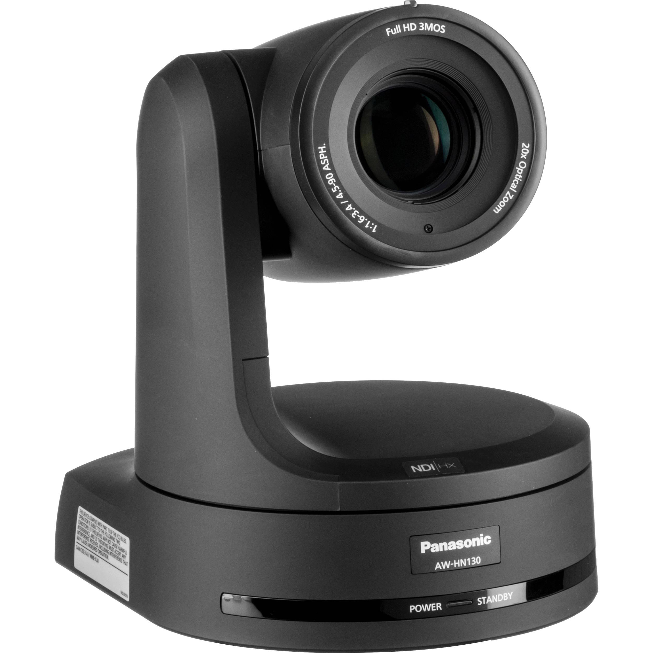 AW-HN130 HD Integrated PTZ Camera with NDI|HX (Black)