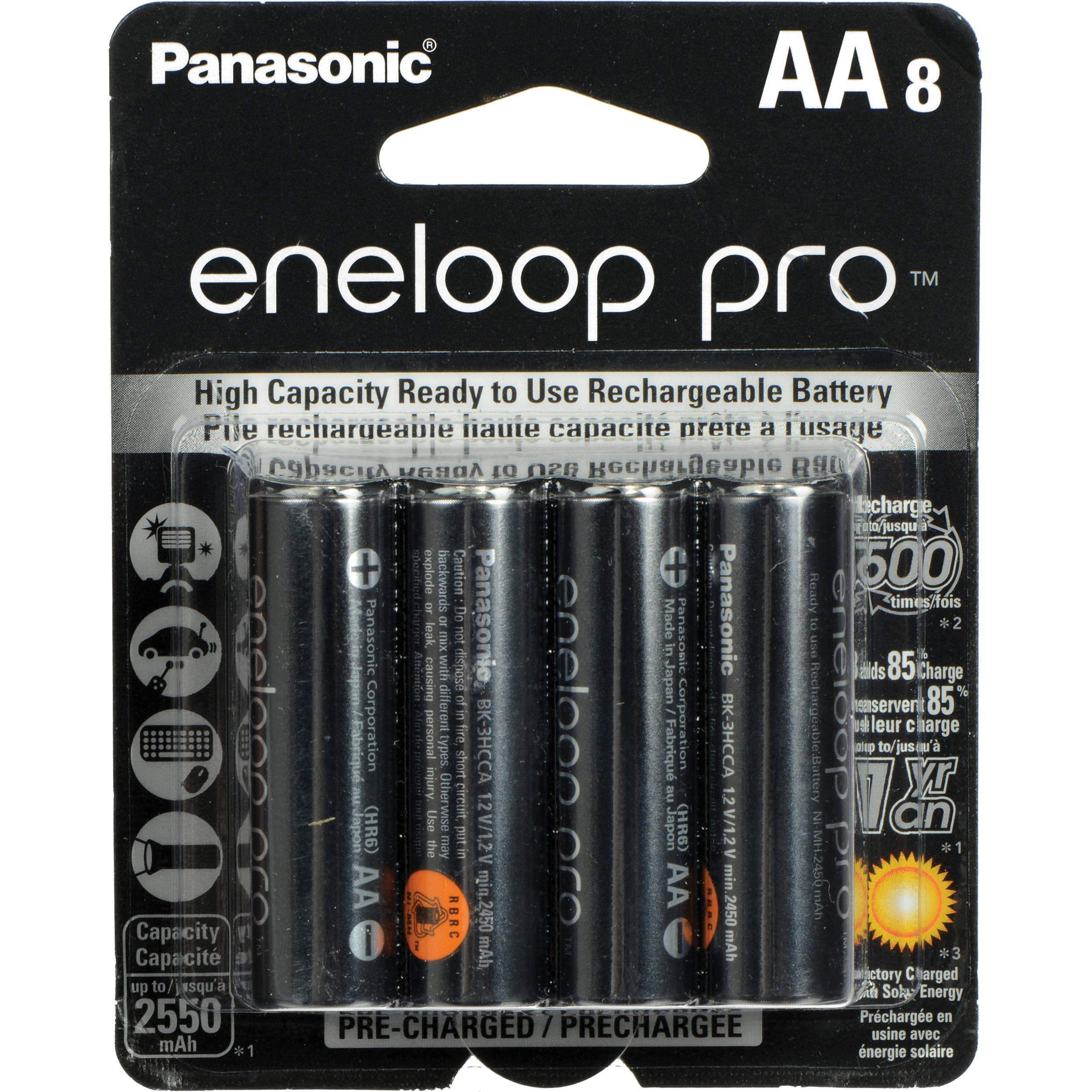 Eneloop pro batterier