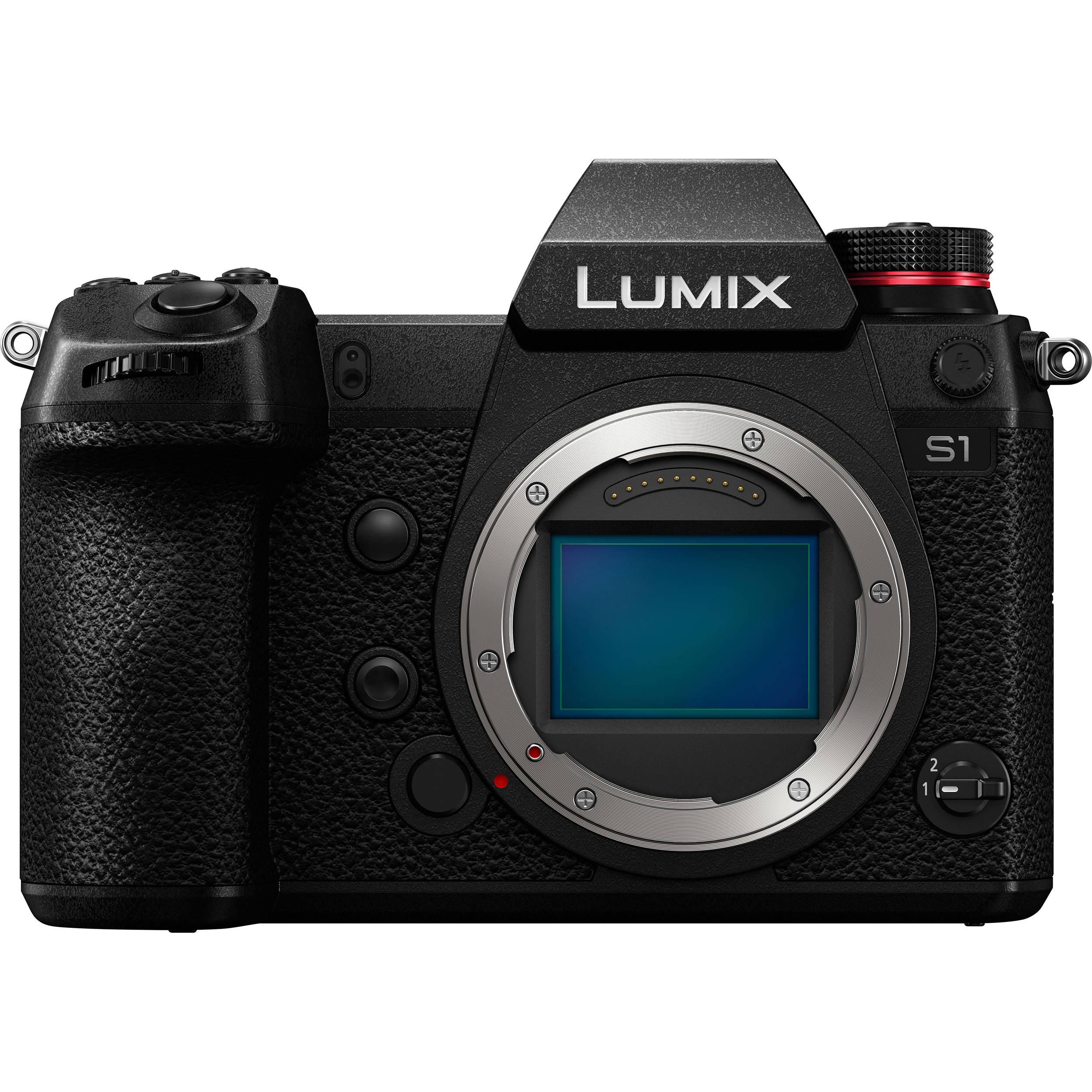 95c3149567b Panasonic S1 Lumix Mirrorless Digital Camera (DC-S1 Camera Body) | B&H