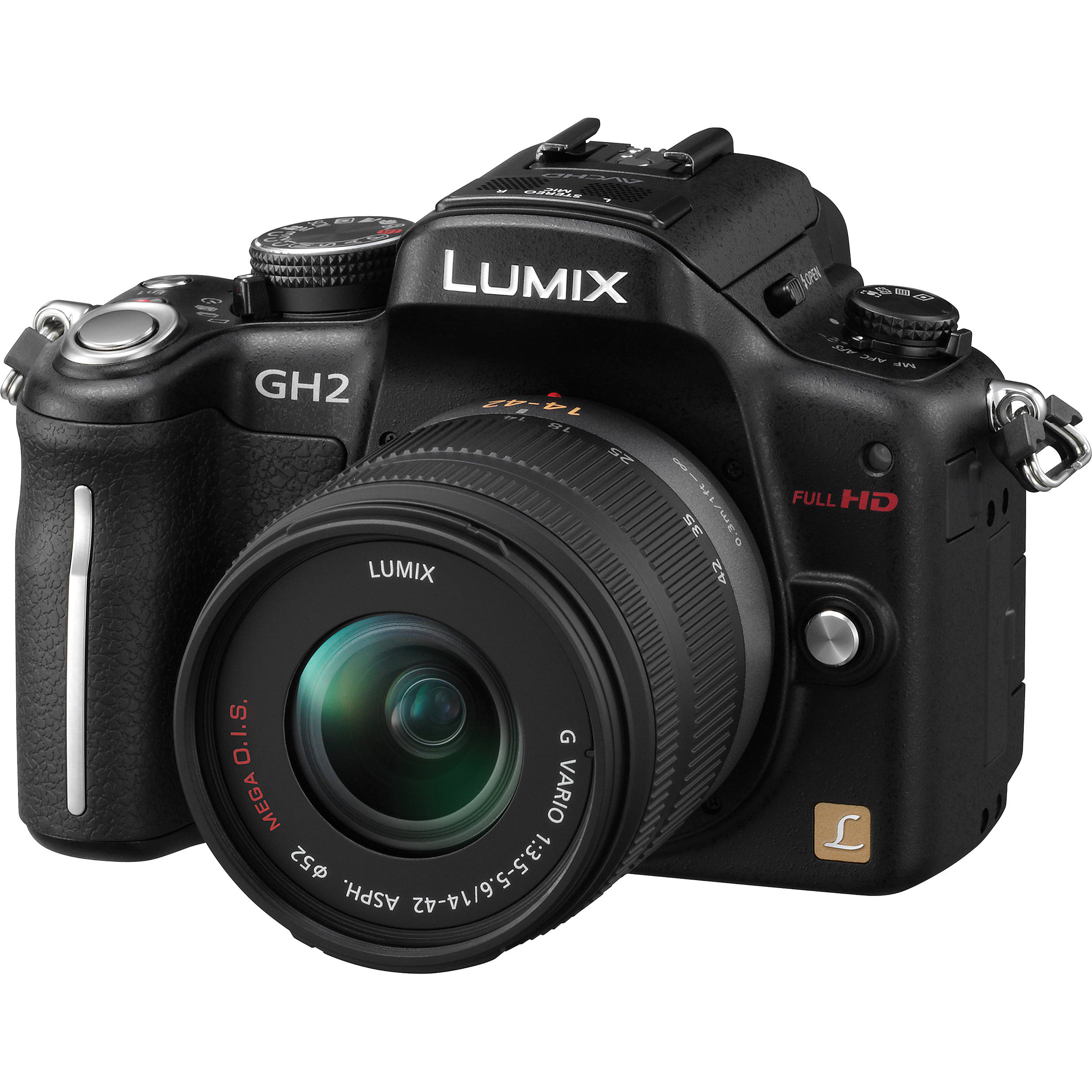 Used Panasonic Lumix DMC-GH2 Digital Camera W/14-42mm DMC ...: https://www.bhphotovideo.com/c/product/801455137-USE/panasonic_dmc_gh2kk_lumix_dmc_gh2_digital_camera.html