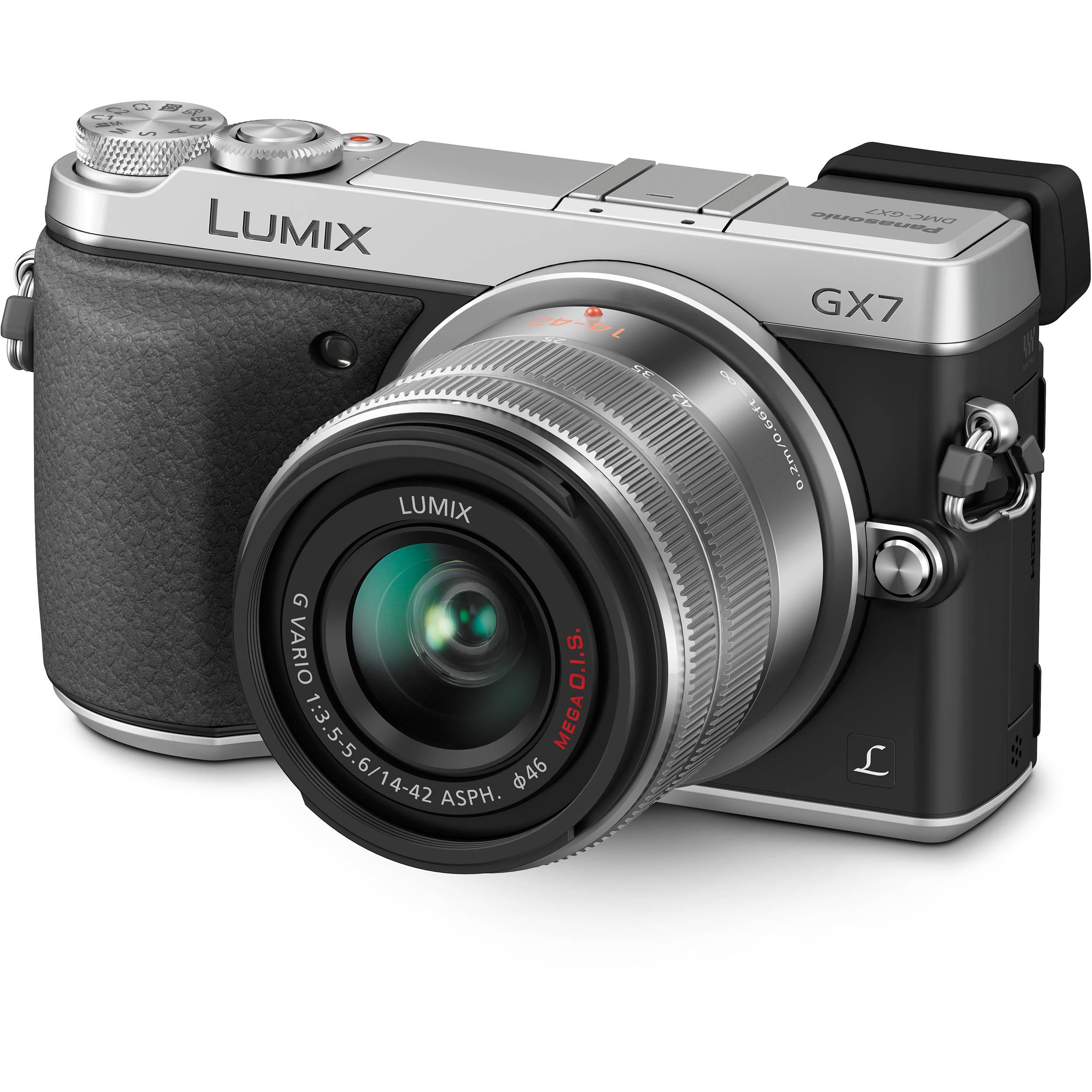 Panasonic Lumix DMC-GX7 Mirrorless Micro Four Thirds DMC-GX7KS