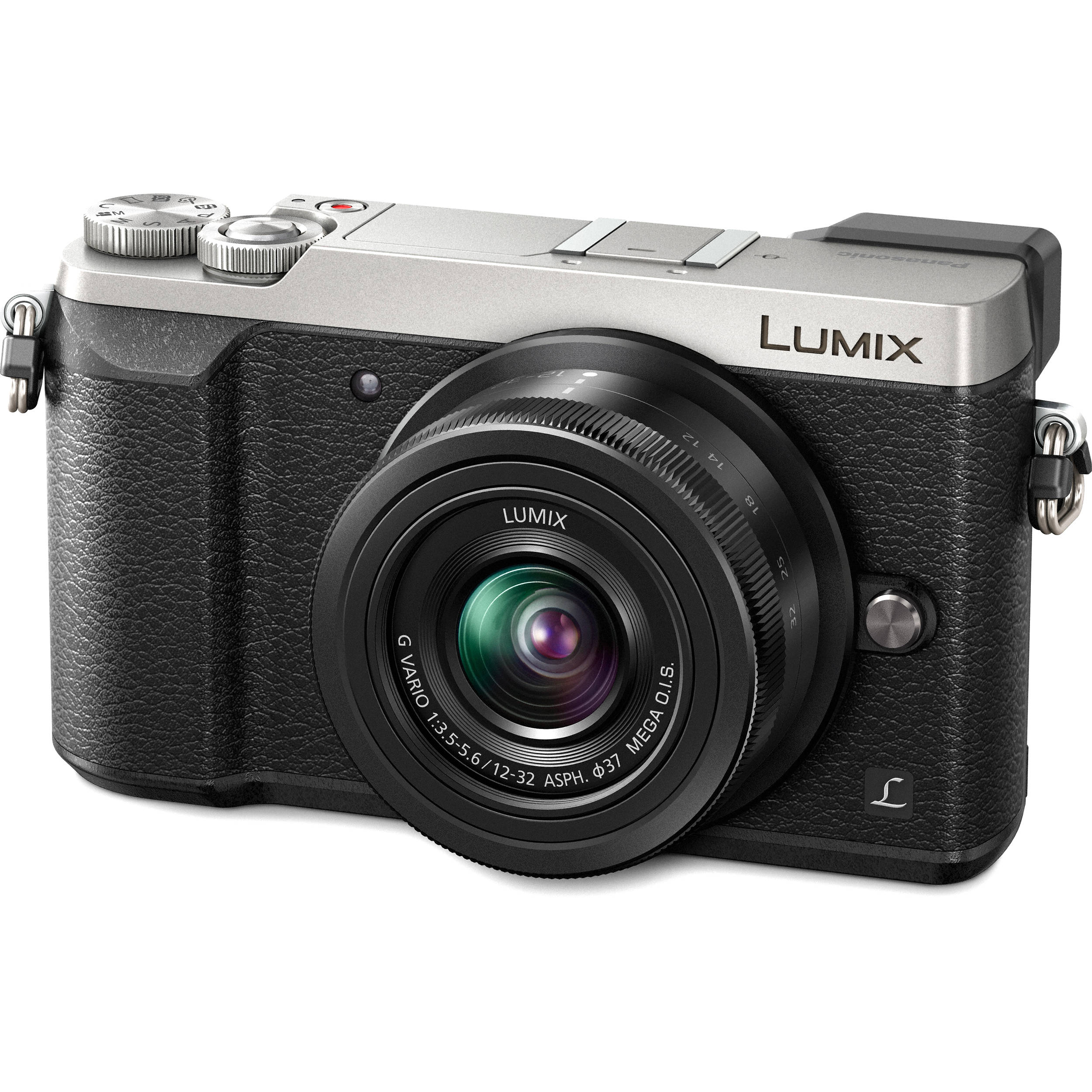 818ebf9f8b Panasonic Lumix DMC-GX85 Mirrorless Micro Four Thirds Digital Camera with  12-32mm Lens (Silver)