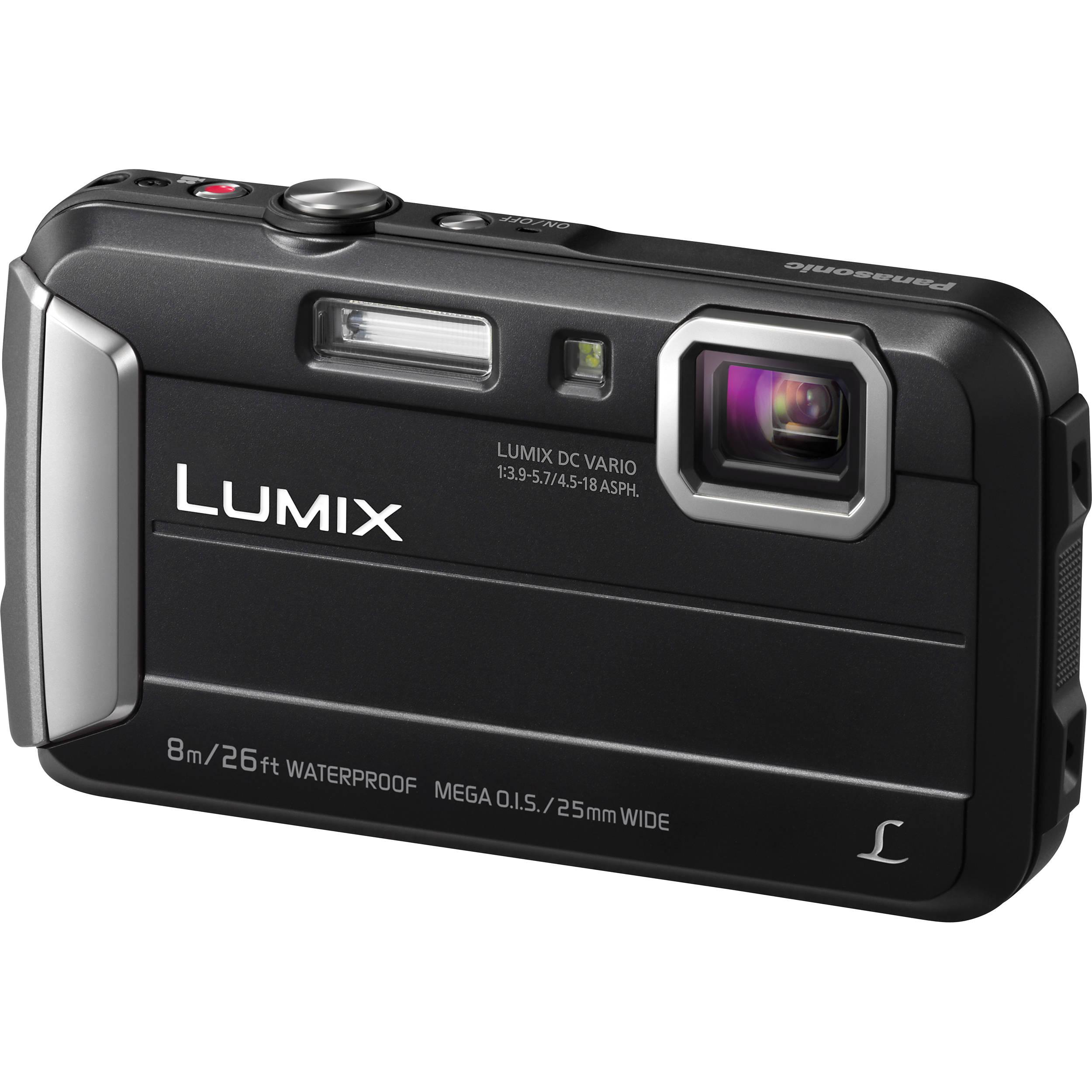 Panasonic Lumix DMC-TS30 Digital Camera (Black) DMCTS30K B&H