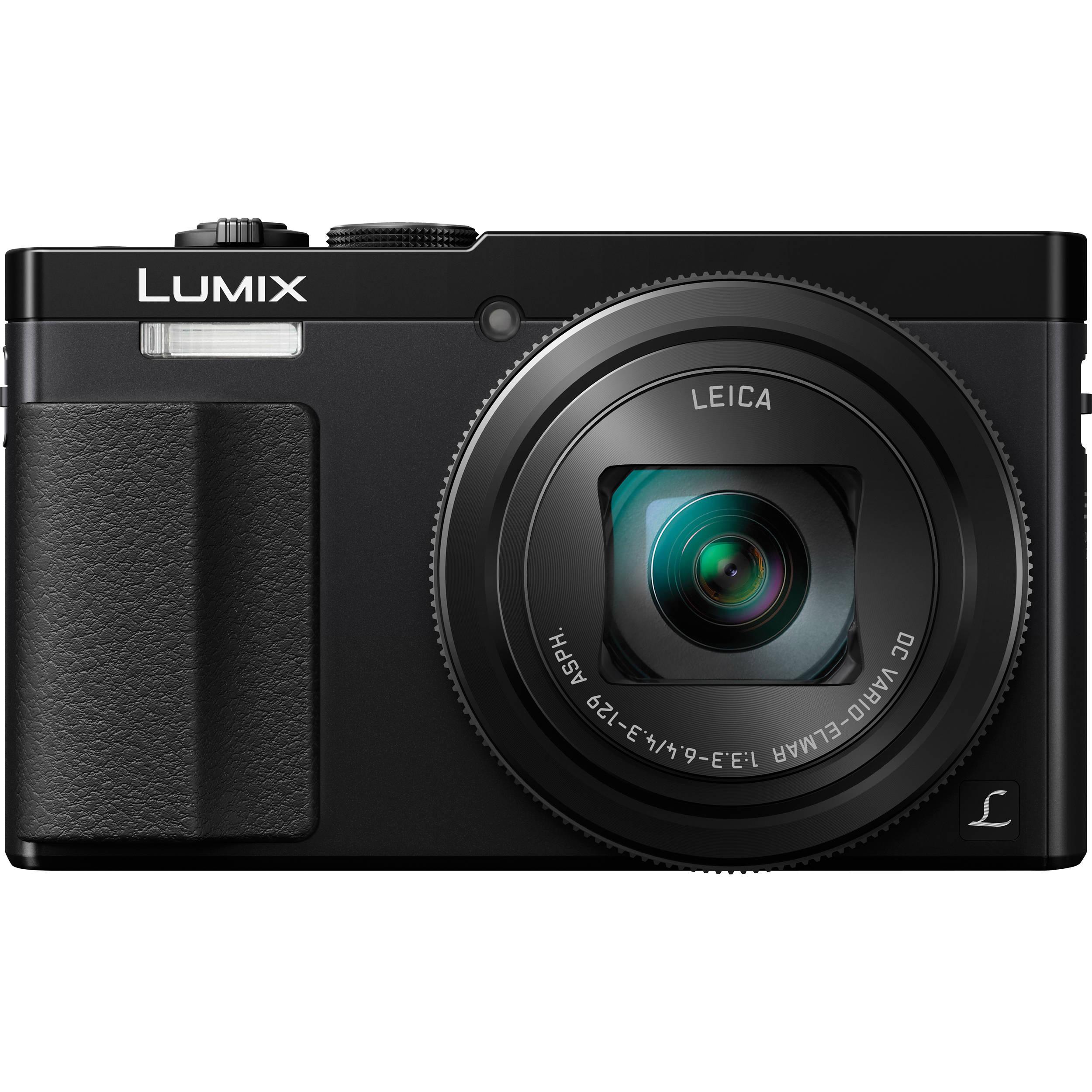 Panasonic Lumix DMC-ZS50 Digital Camera (Black) DMC-ZS50K B&H