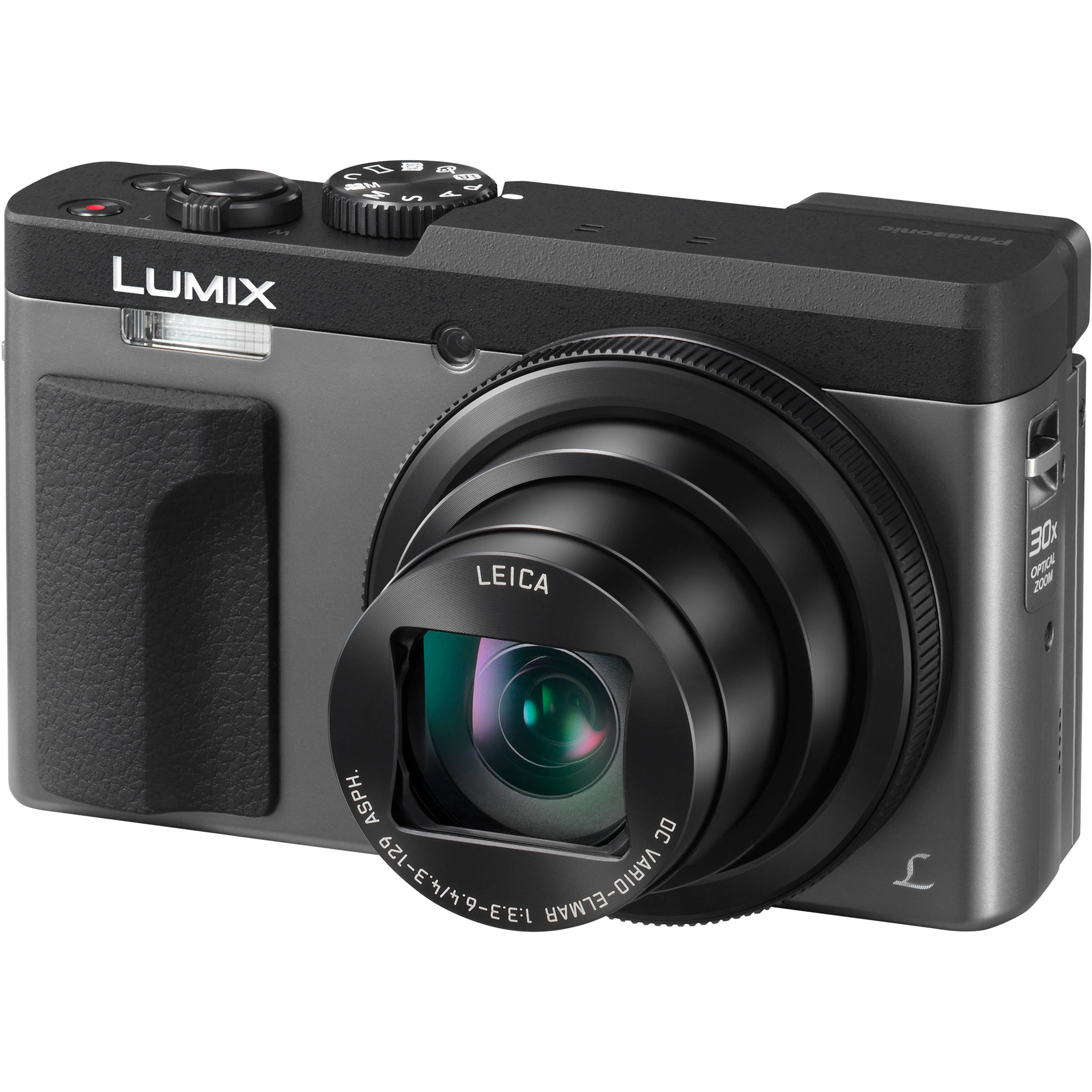 Panasonic Lumix DC-ZS70 Digital Camera (Silver) DC-ZS70/S B&H