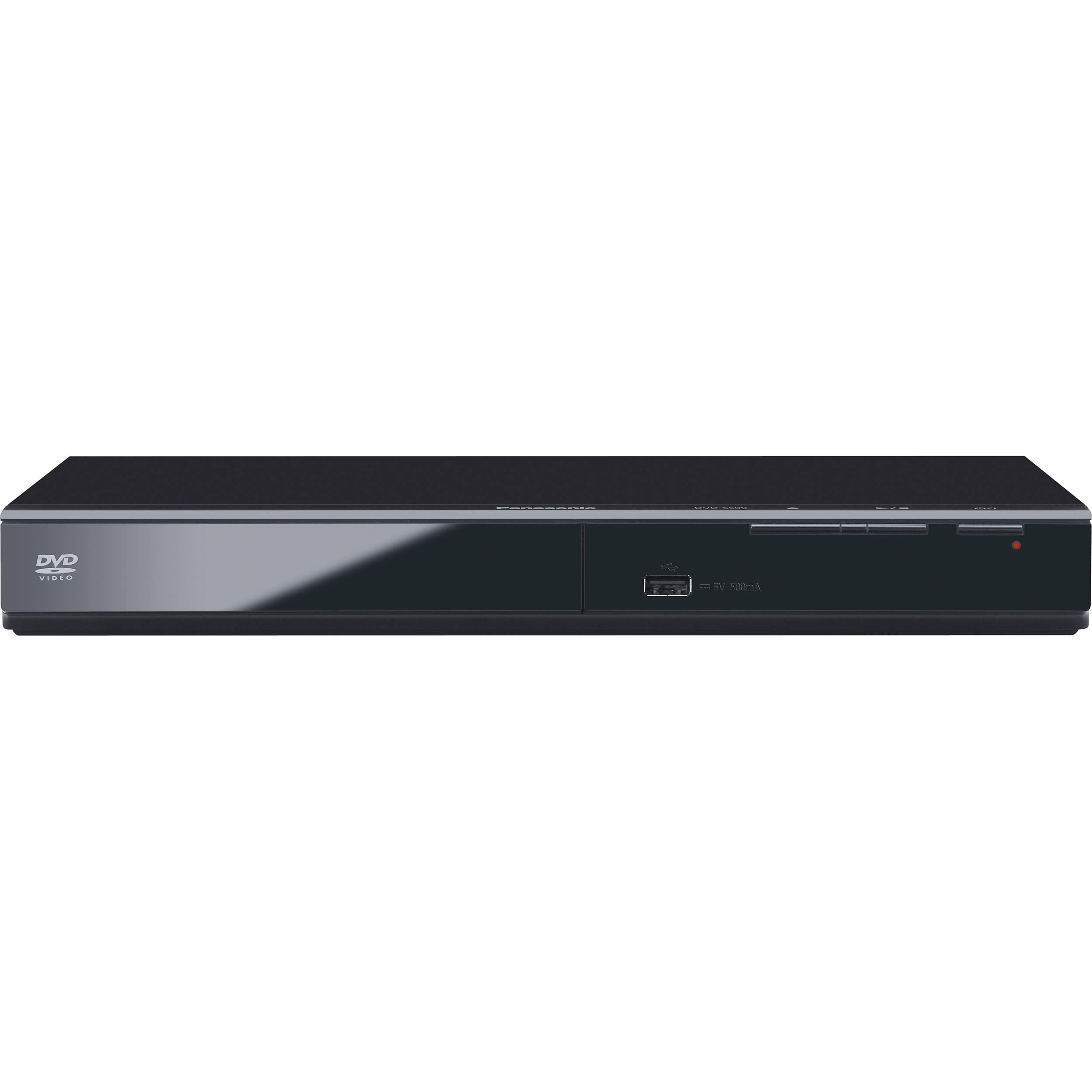 Panasonic Dvd S500 Progressive Scan Dvd Player Dvd S500 B Amp H