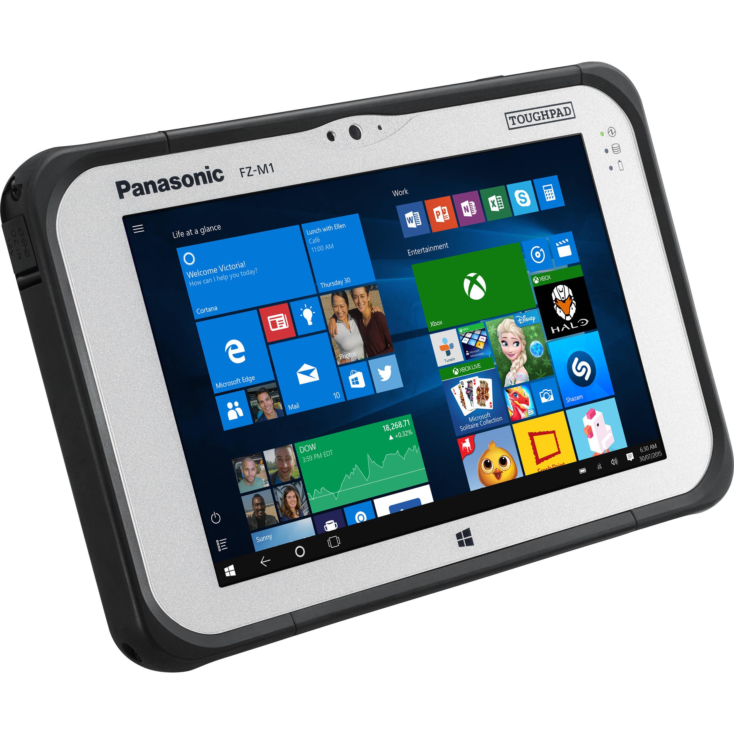 "Panasonic 7"" Toughpad FZ-M1 256GB Tablet FZ-M1F323XVM B&H"