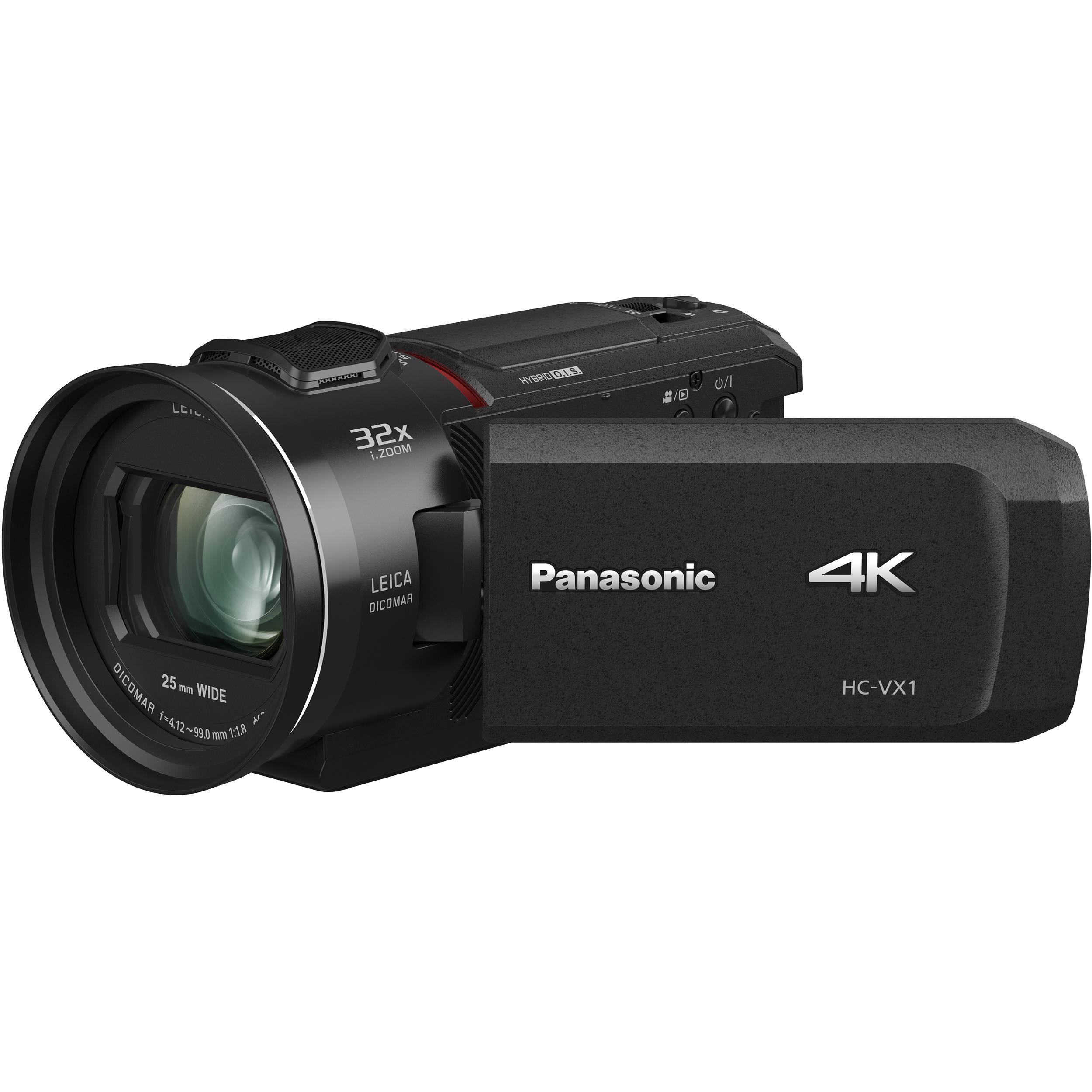 Panasonic HC-VX1 4K HD Camcorder HC-VX1K B&H Photo Video