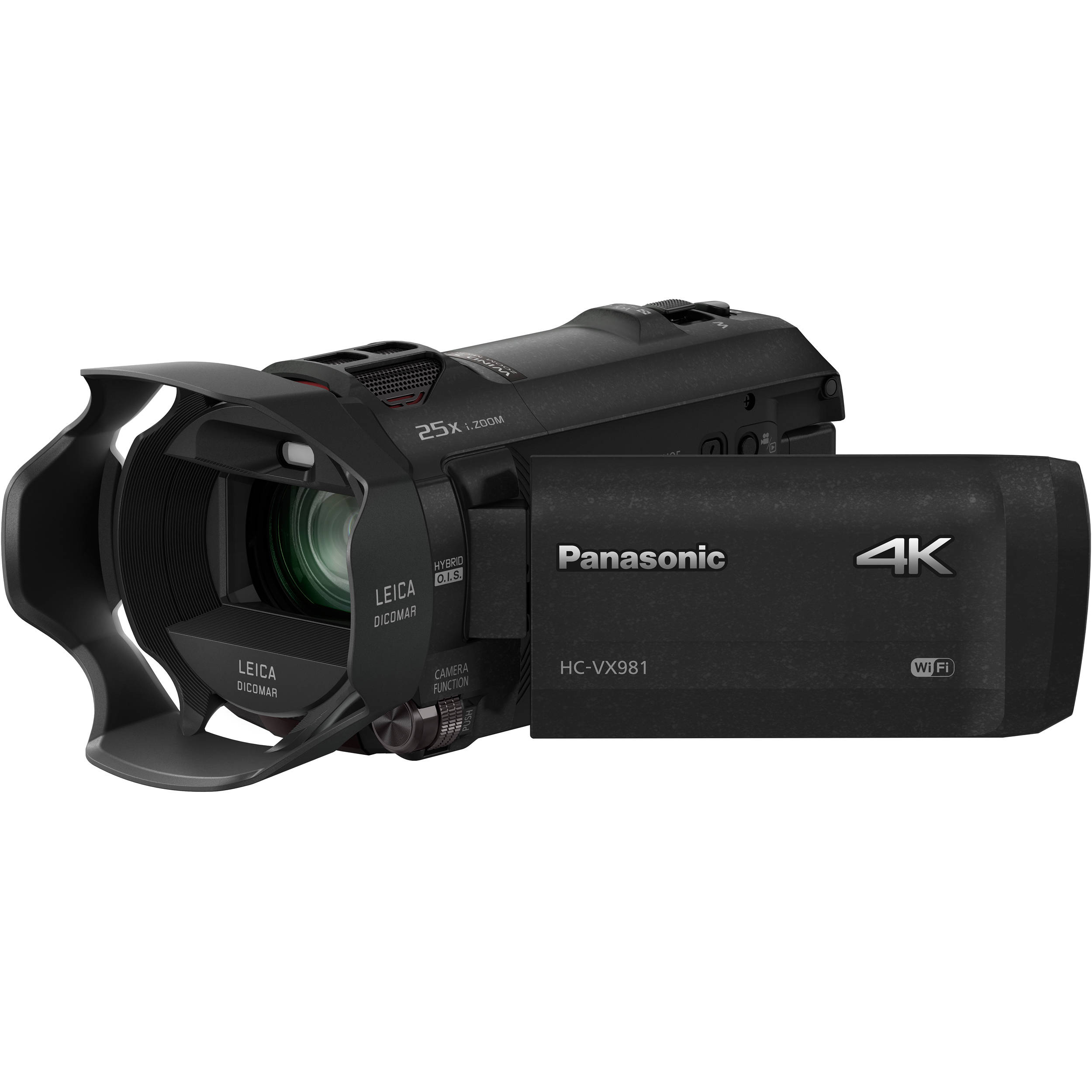 Panasonic HC-VX981K 4K Ultra HD Camcorder HC-VX981K B\u0026H Photo