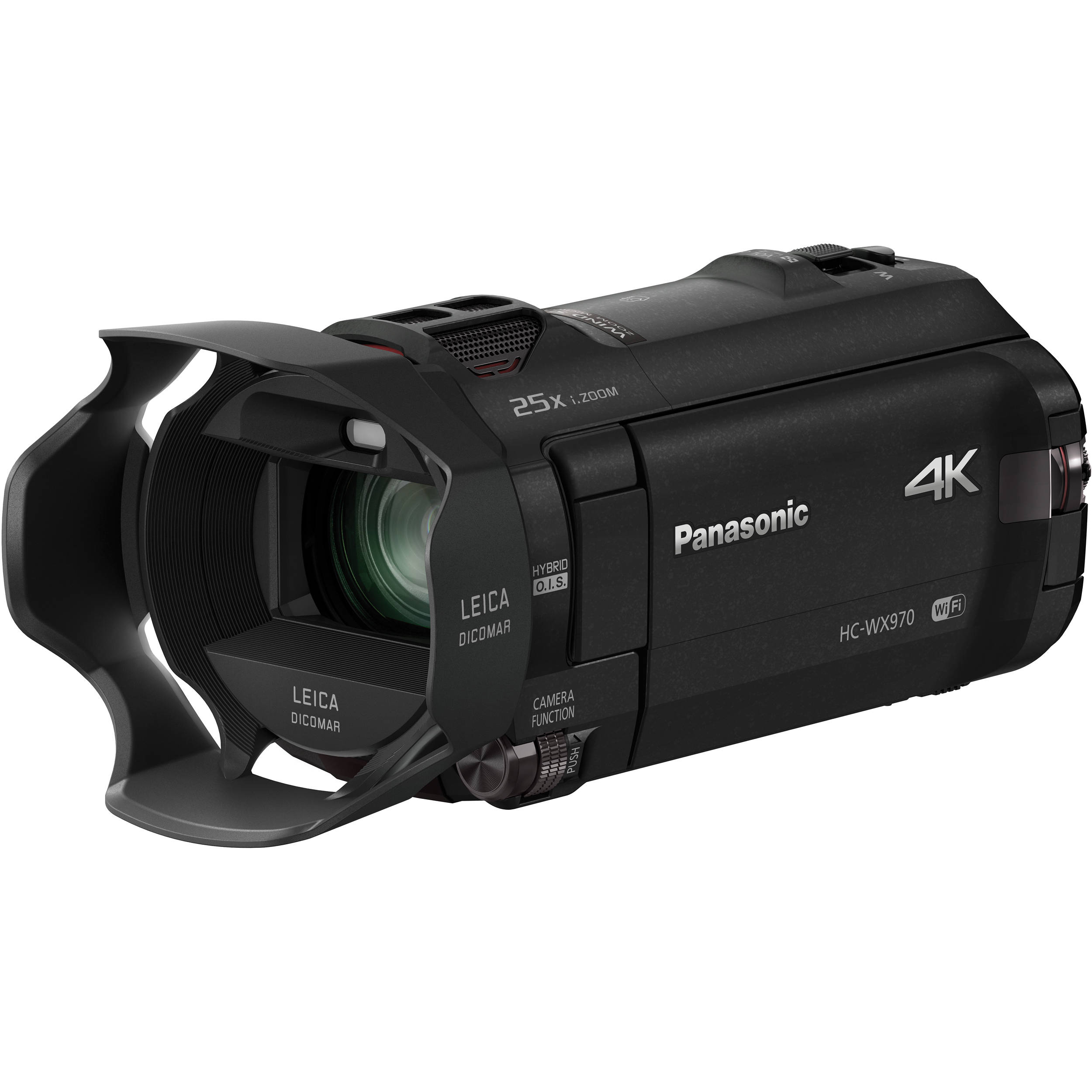 Panasonic hc wx970k 4k ultra hd camcorder with twin hc wx970k for Housse camescope