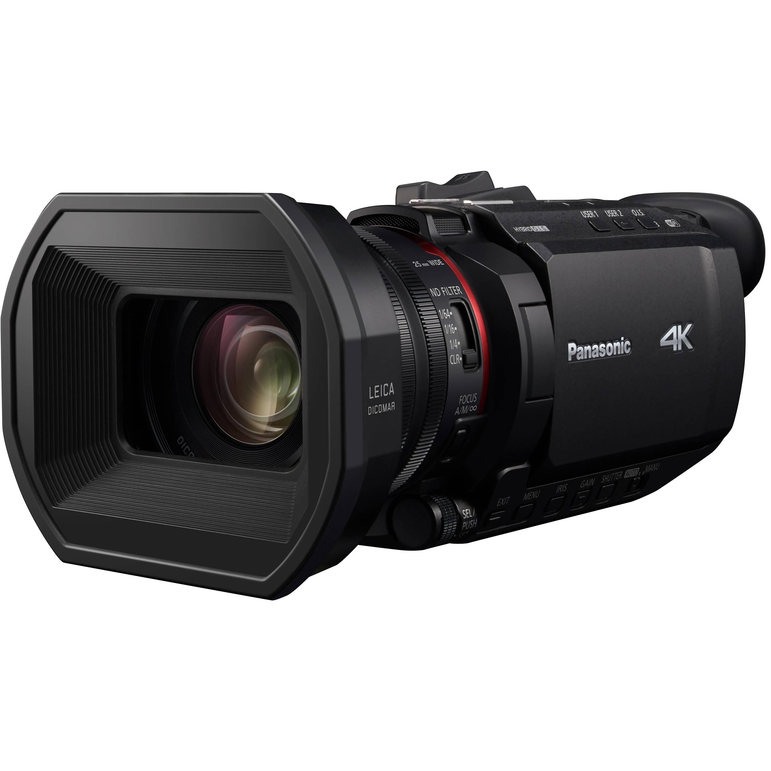 Panasonic HC-X1500 UHD 4K HDMI Pro Camcorder with 24x HC-X1500