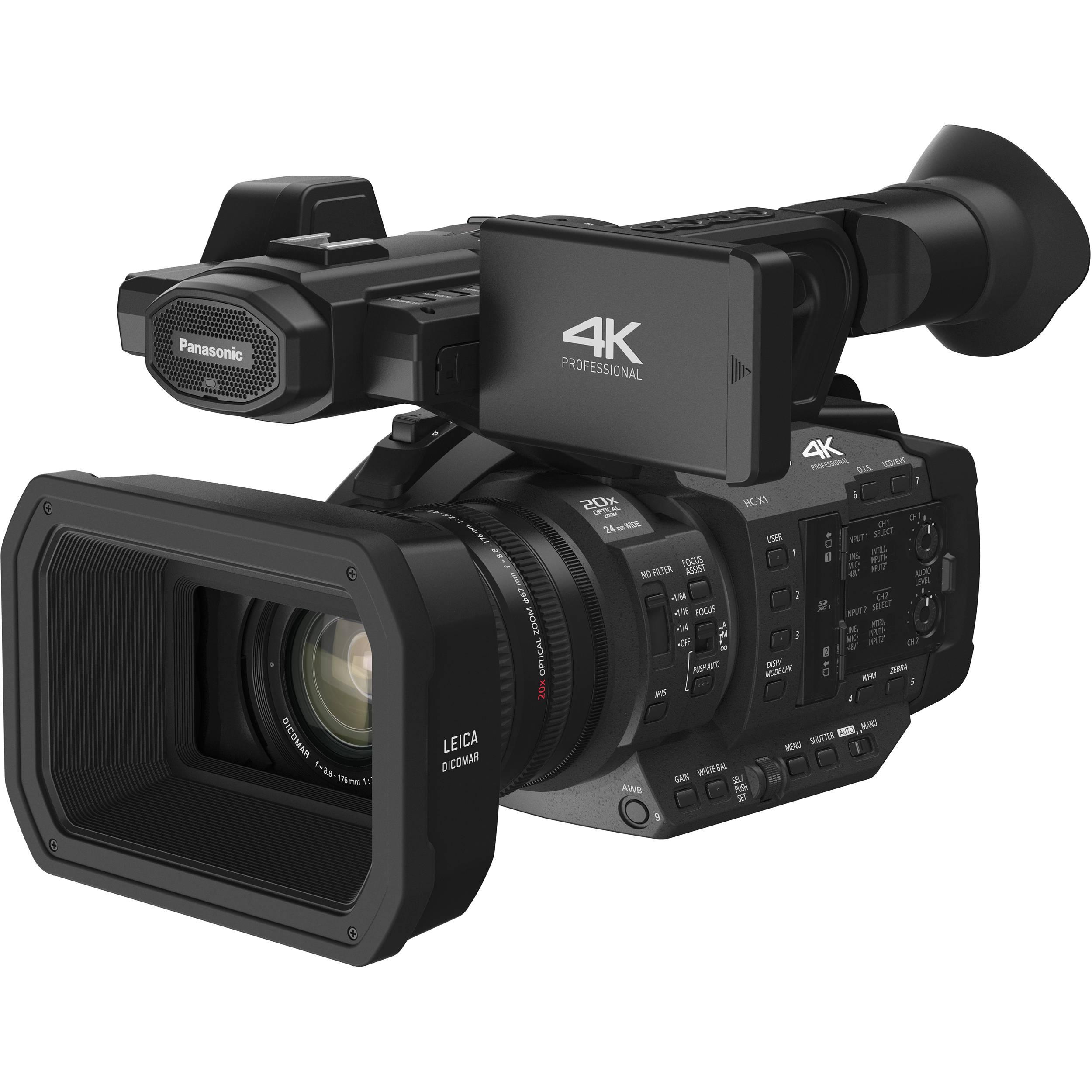 Panasonic HC-X1 4K Ultra HD Professional Camcorder HC-X1 B&H