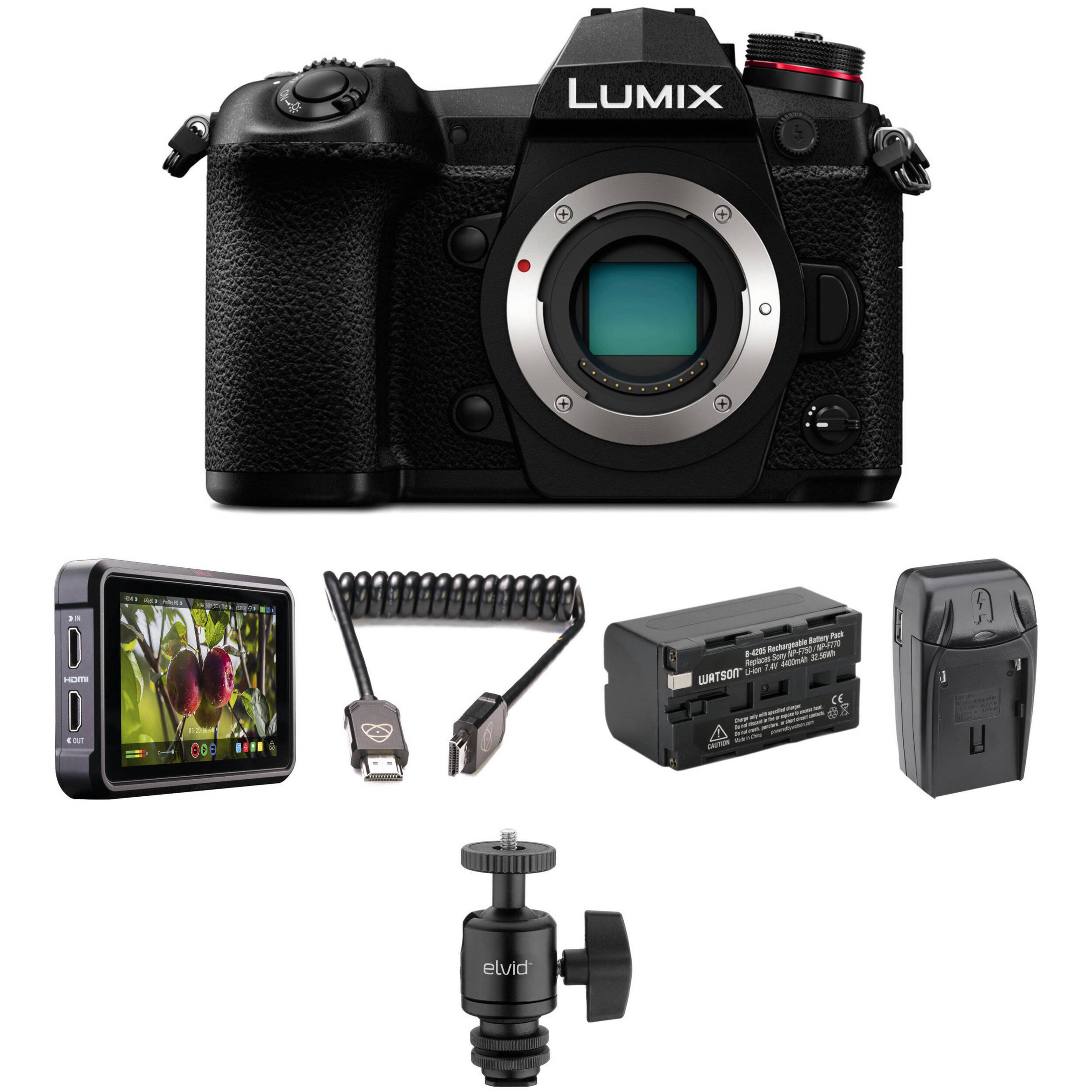 Panasonic Lumix DC-G9 Mirrorless Digital Camera HDR Filmmaker