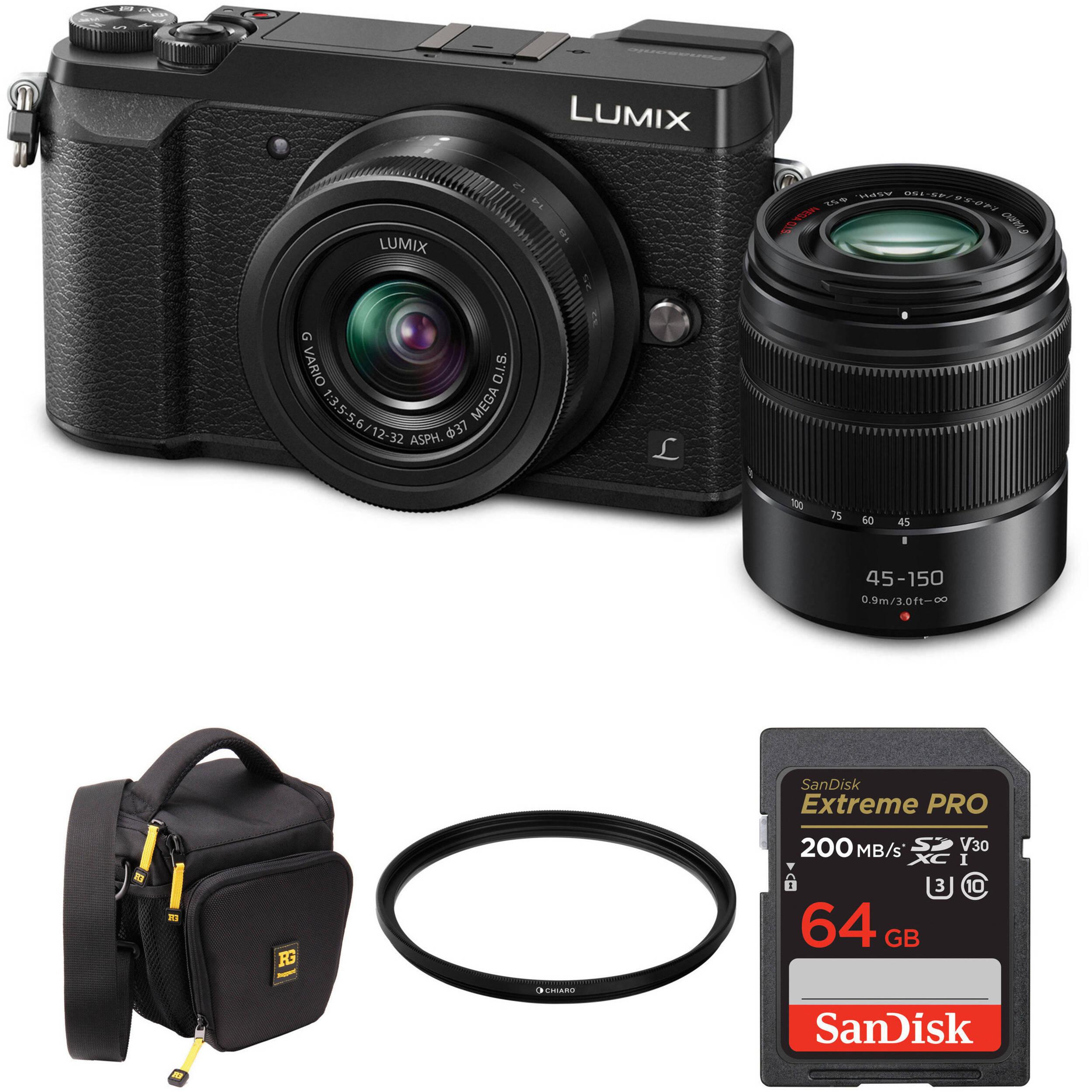 c8e8270e7ba Panasonic DMC-GX85 Lumix Mirrorless Micro Four Thirds (GX85 Silver) Digital  Camera