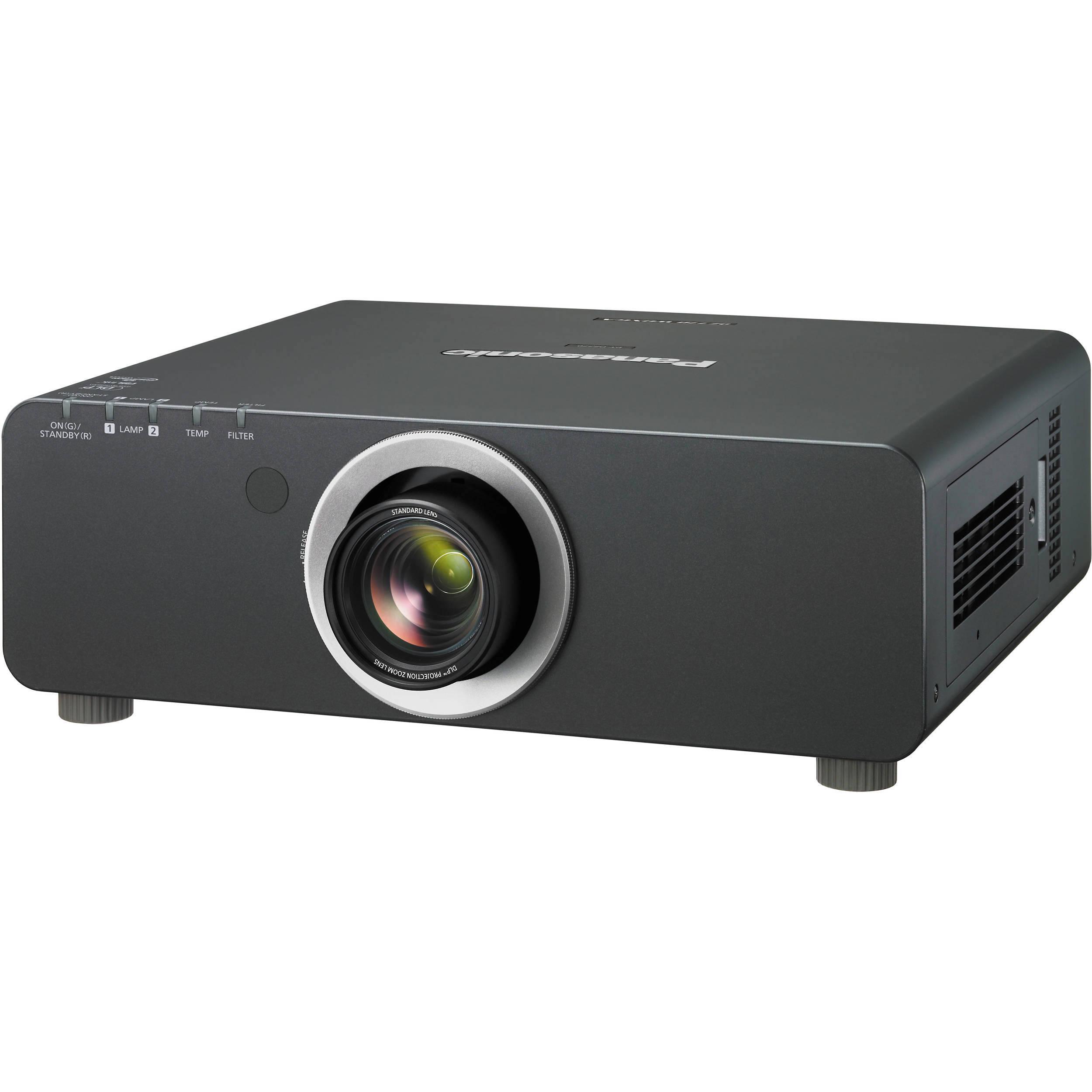 Panasonic PT-DW740UK 1-Chip 7000 Lumens DLP Projector PT ...