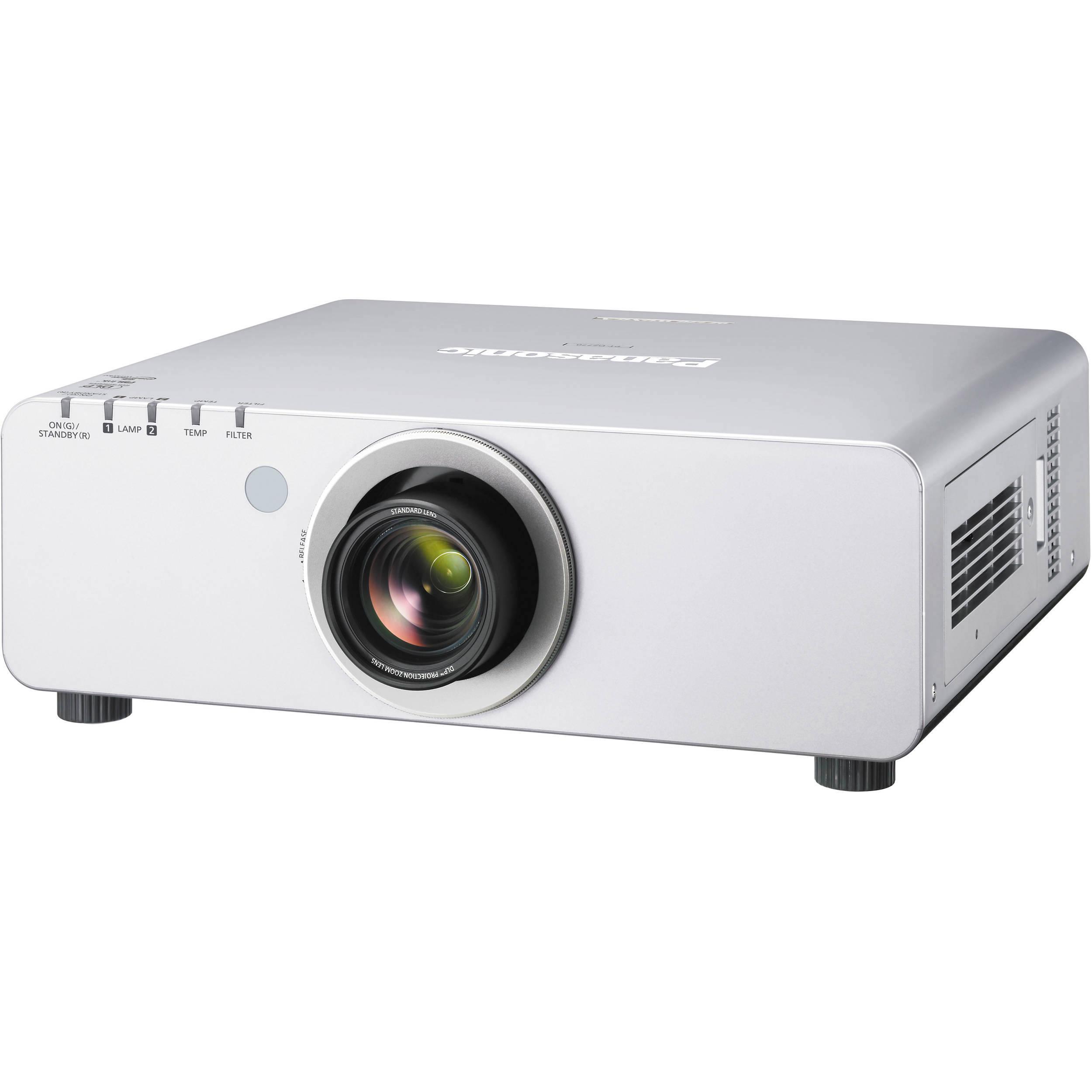 Panasonic PT-DW740US 1-Chip 7000 Lumens DLP Projector PT ...