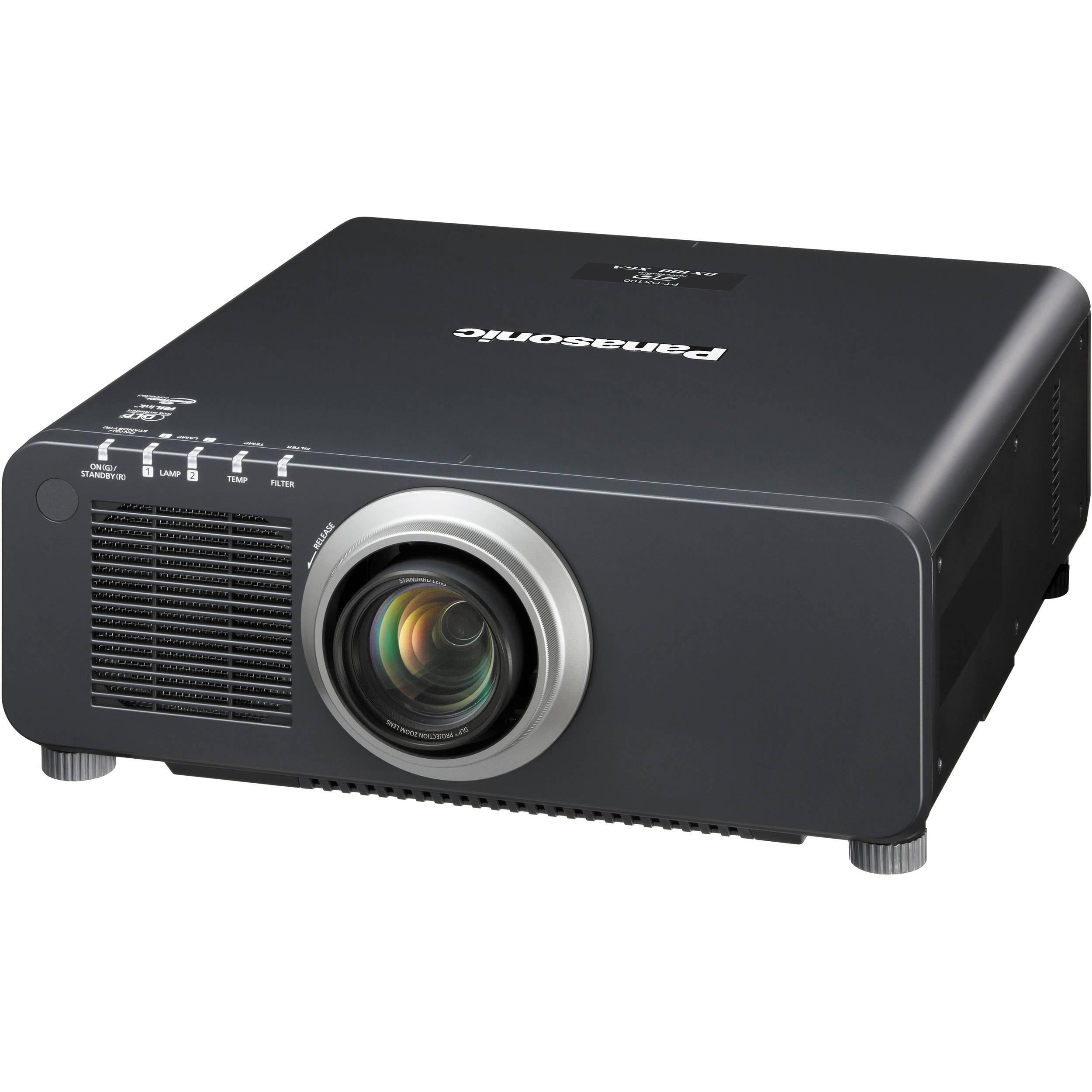 Panasonic PT-DX100UK 10,000-Lumen XGA DLP Projector PT-DX100UK