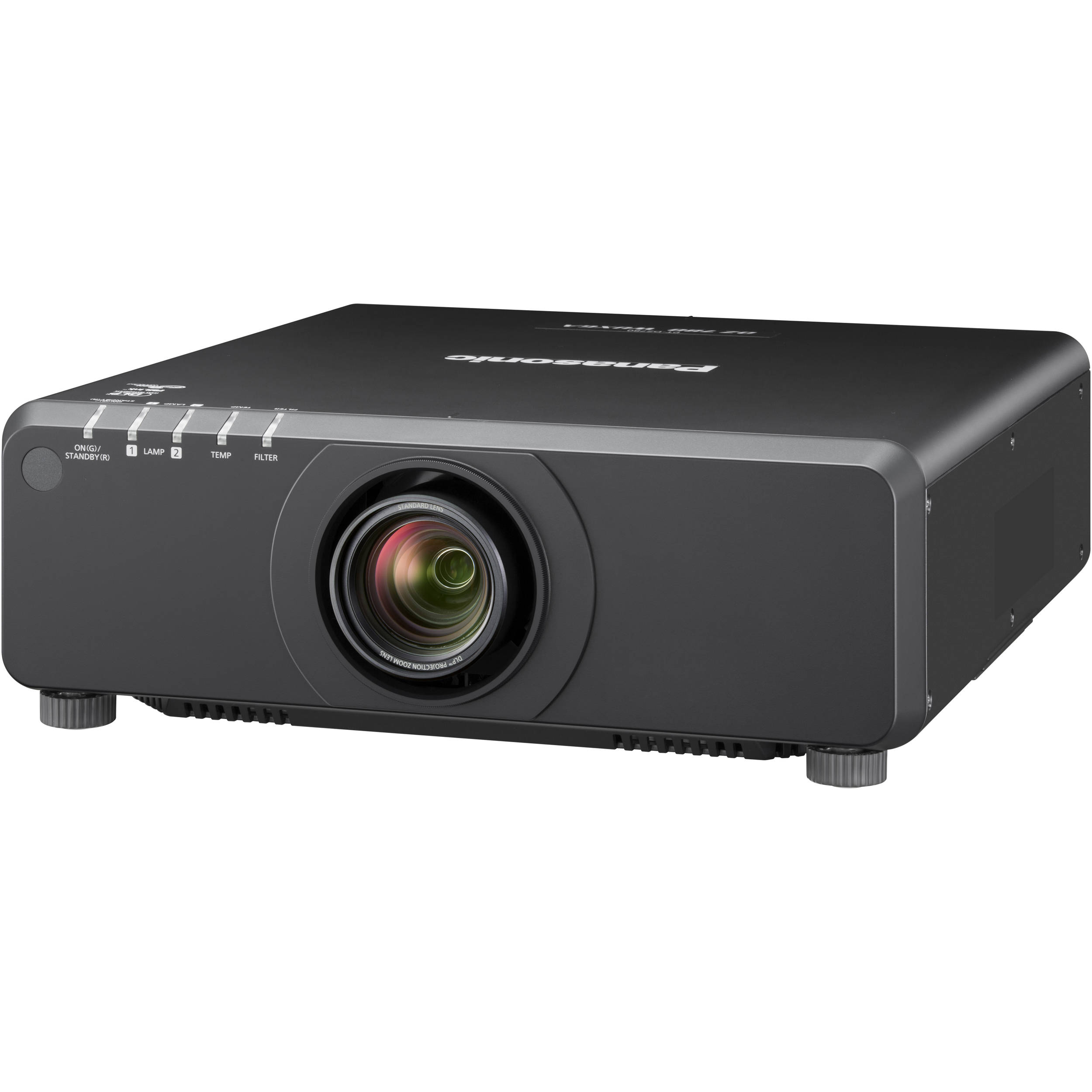 Panasonic PT-DX820BU 8200-Lumen XGA DLP Projector PT ...