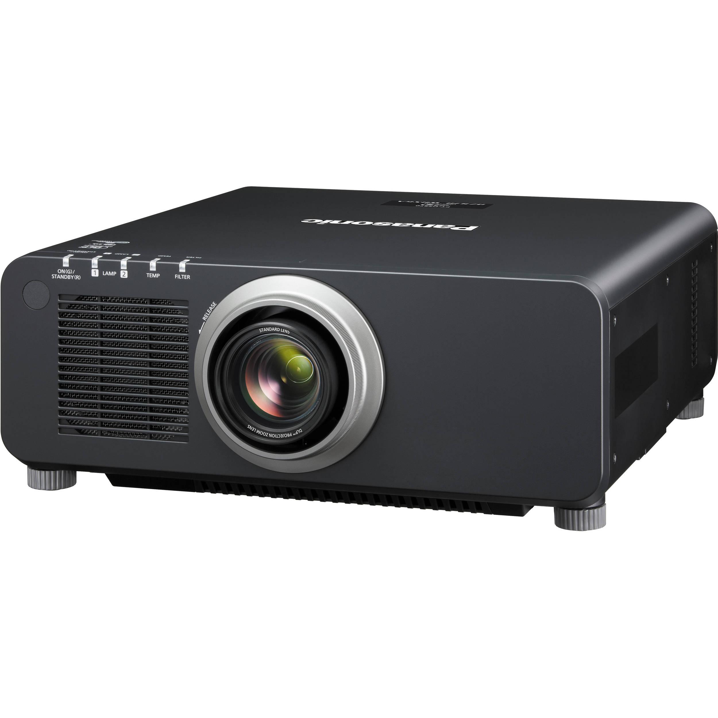 Panasonic 1-Chip 8,500 Lumens DLP Projector PT-DZ870UK B&H ...
