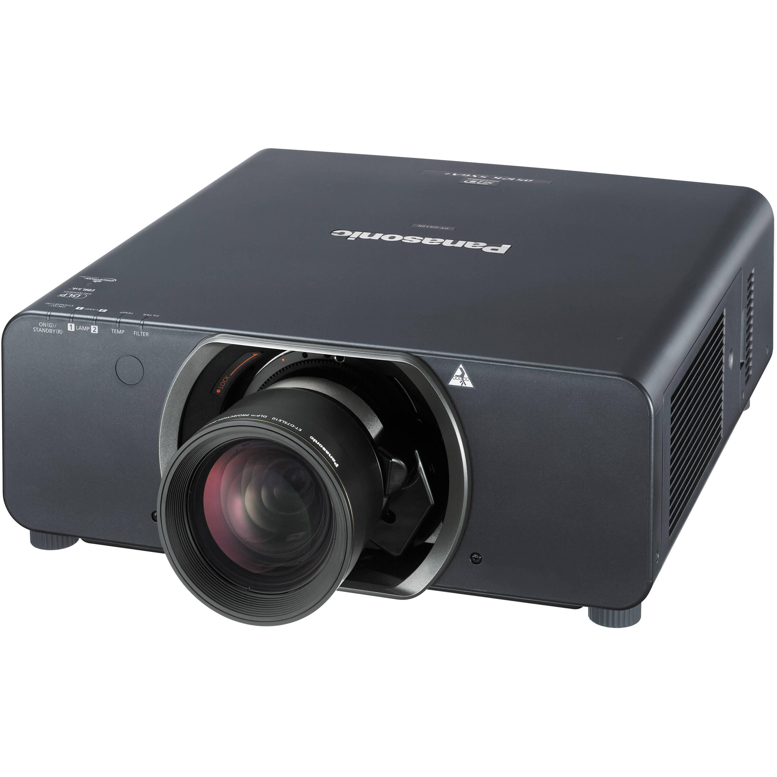 Panasonic PT-DS12KU 3-Chip DLP Projector PT-DS12KU B&H Photo