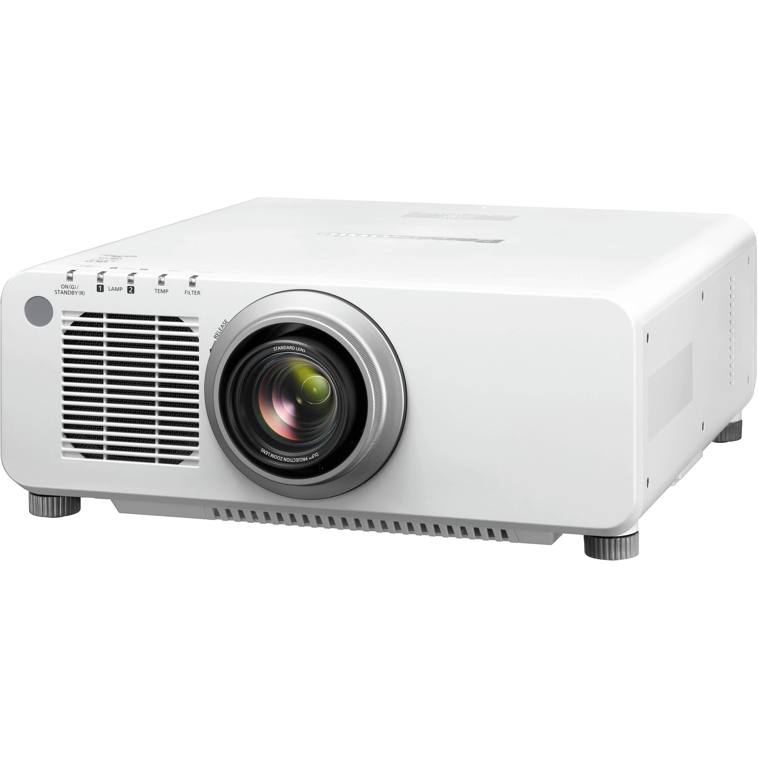 Panasonic Pt Dw830uw Wxga 1 Chip Dlp Projector White