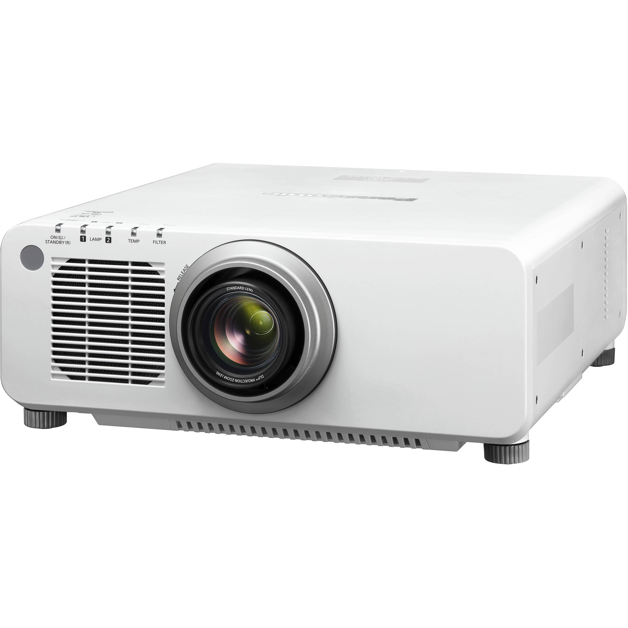 Panasonic pt dx100uw 10 000 lumen xga dlp projector pt dx100uw for Dlp micro projector