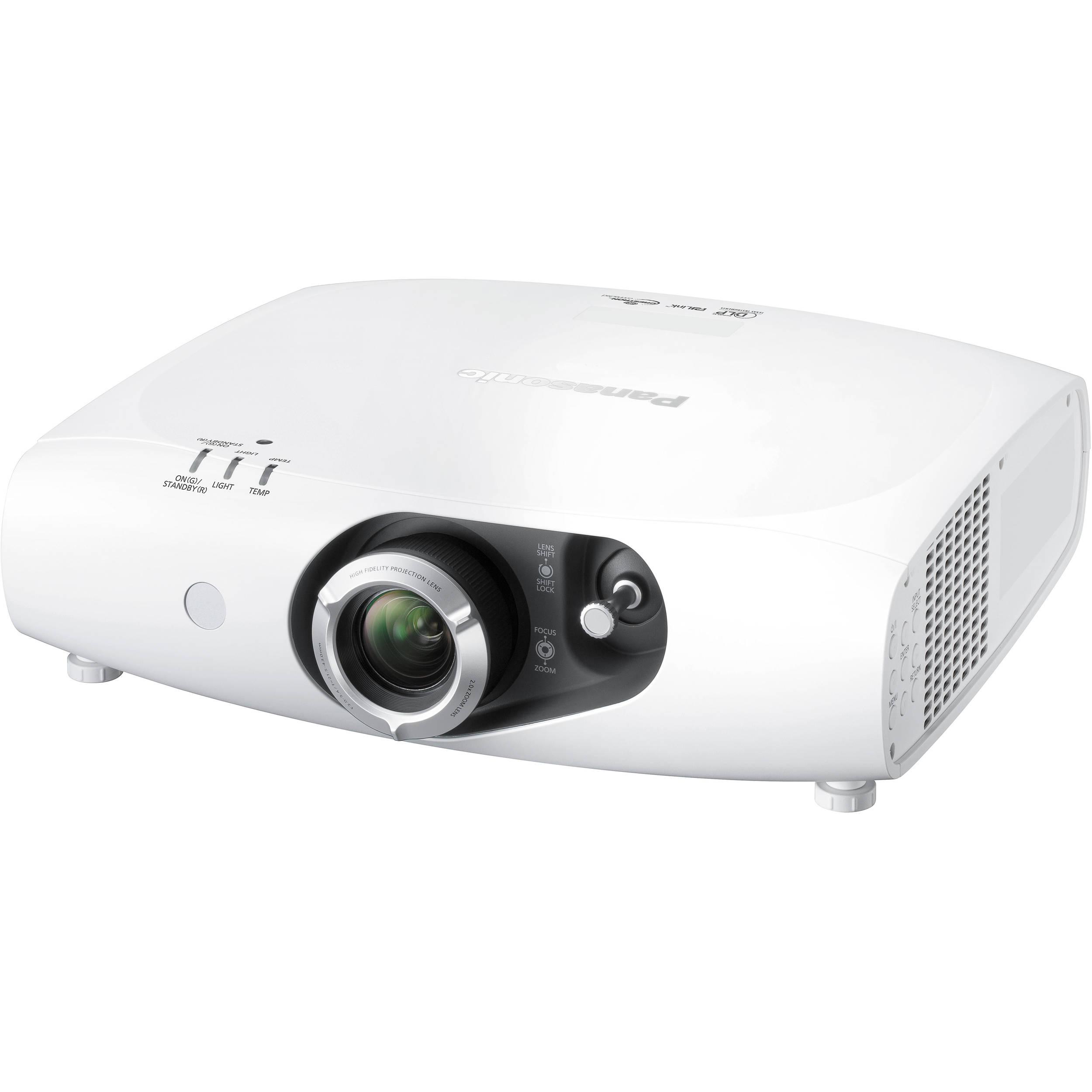 Panasonic PT-RW430UW 3500-Lumen WXGA DLP Projector PT-RW430UW