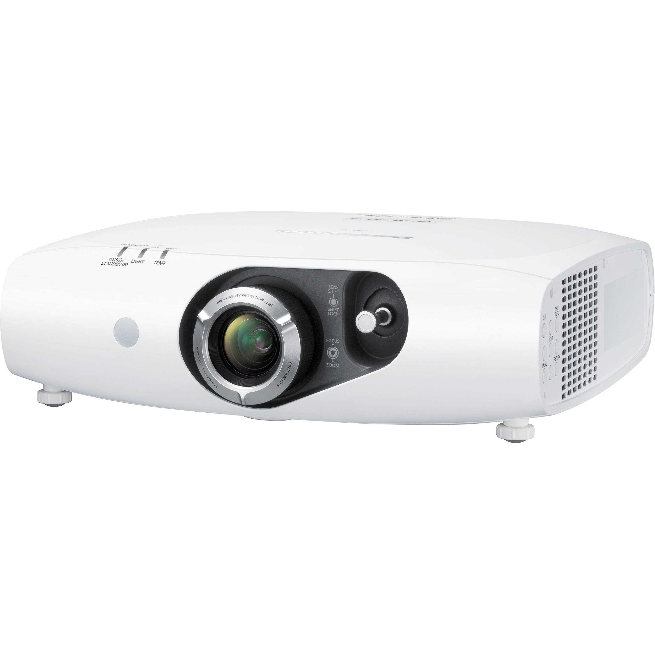 Panasonic pt rz470uw 3500 lumen full hd dlp projector pt for Hd projector