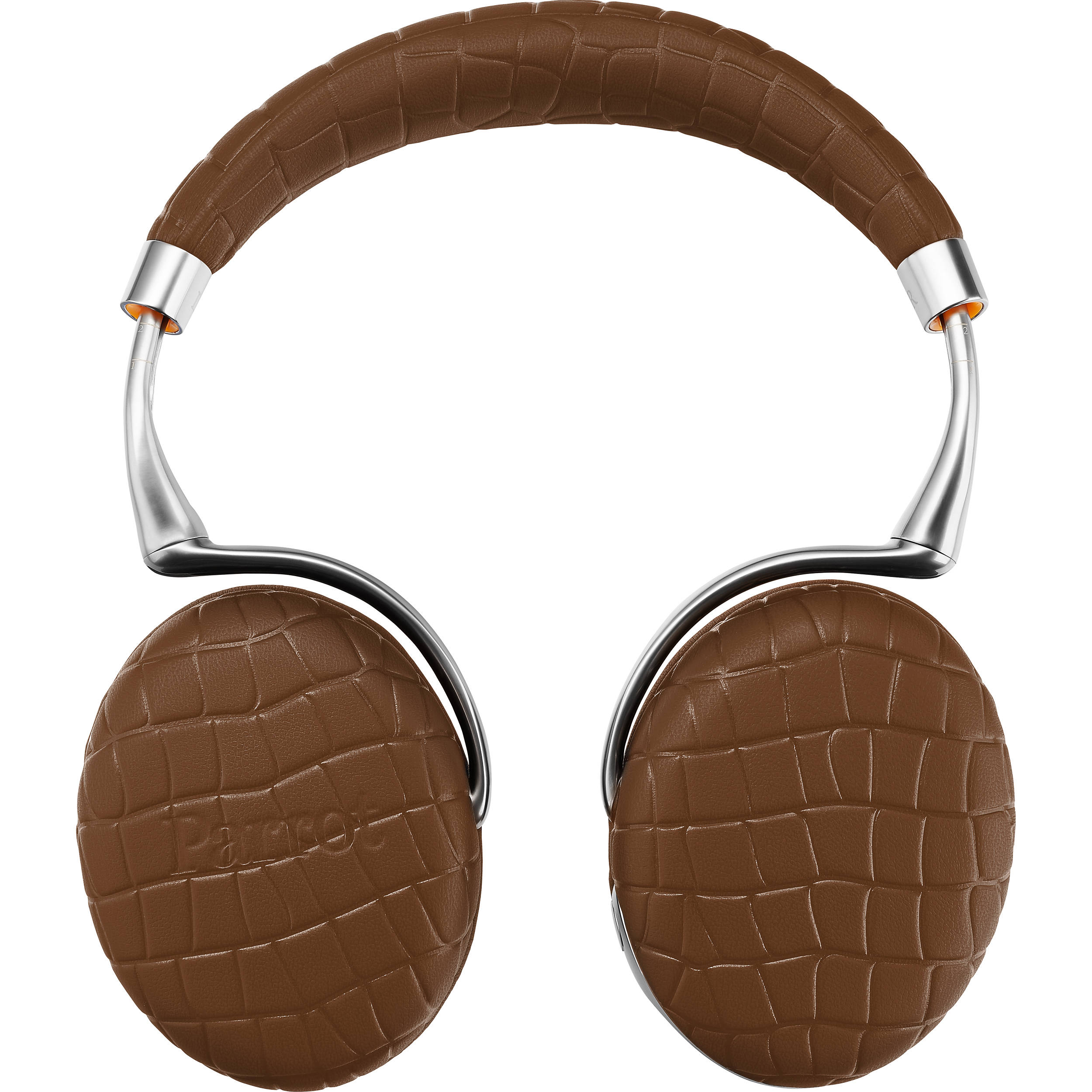 5f25dc32f63 Parrot Zik 3.0 Stereo Bluetooth Headphones & Wireless Charger (Brown, Croc)