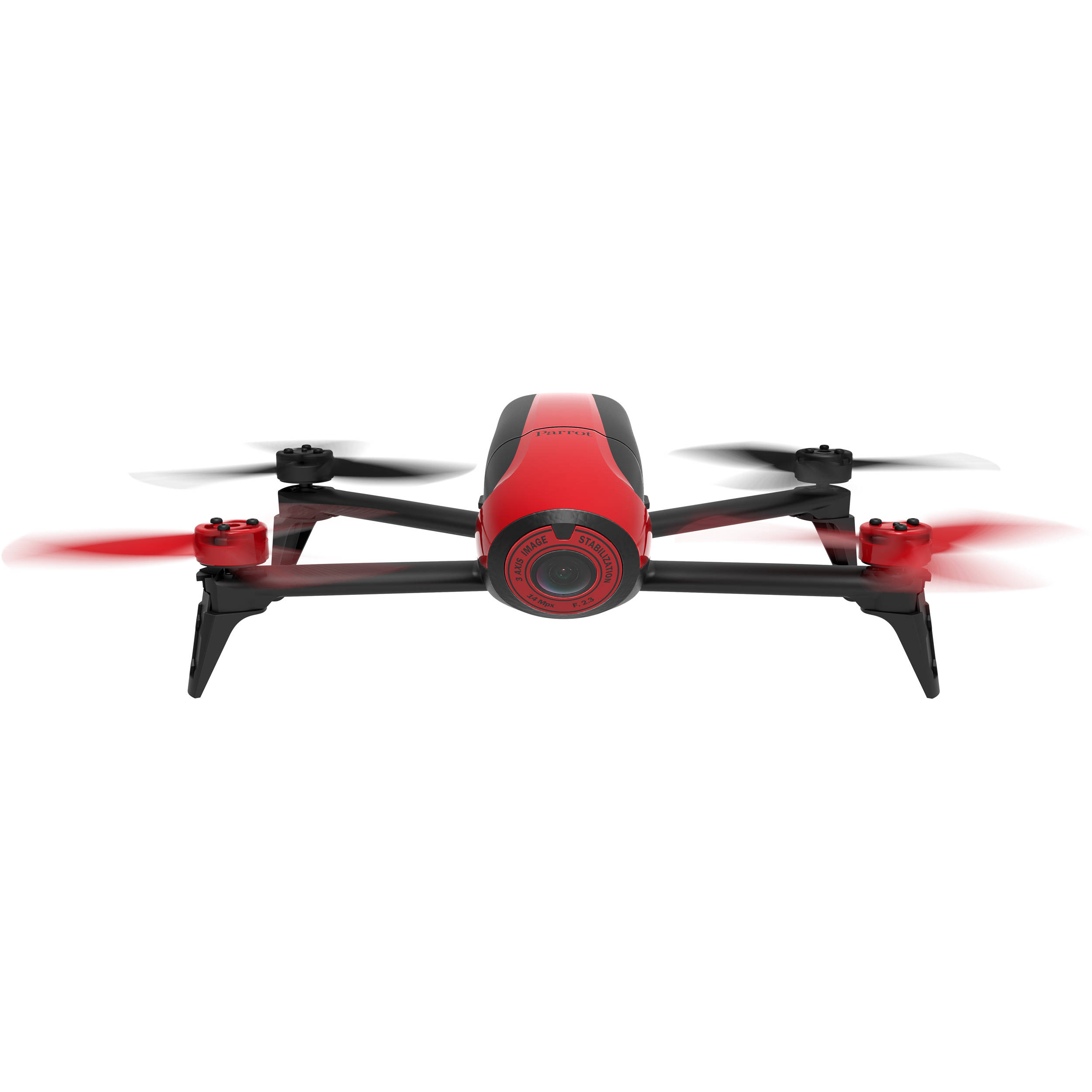 Parrot BeBop 2 Drone With 14 Megapixel Flight Camera Red