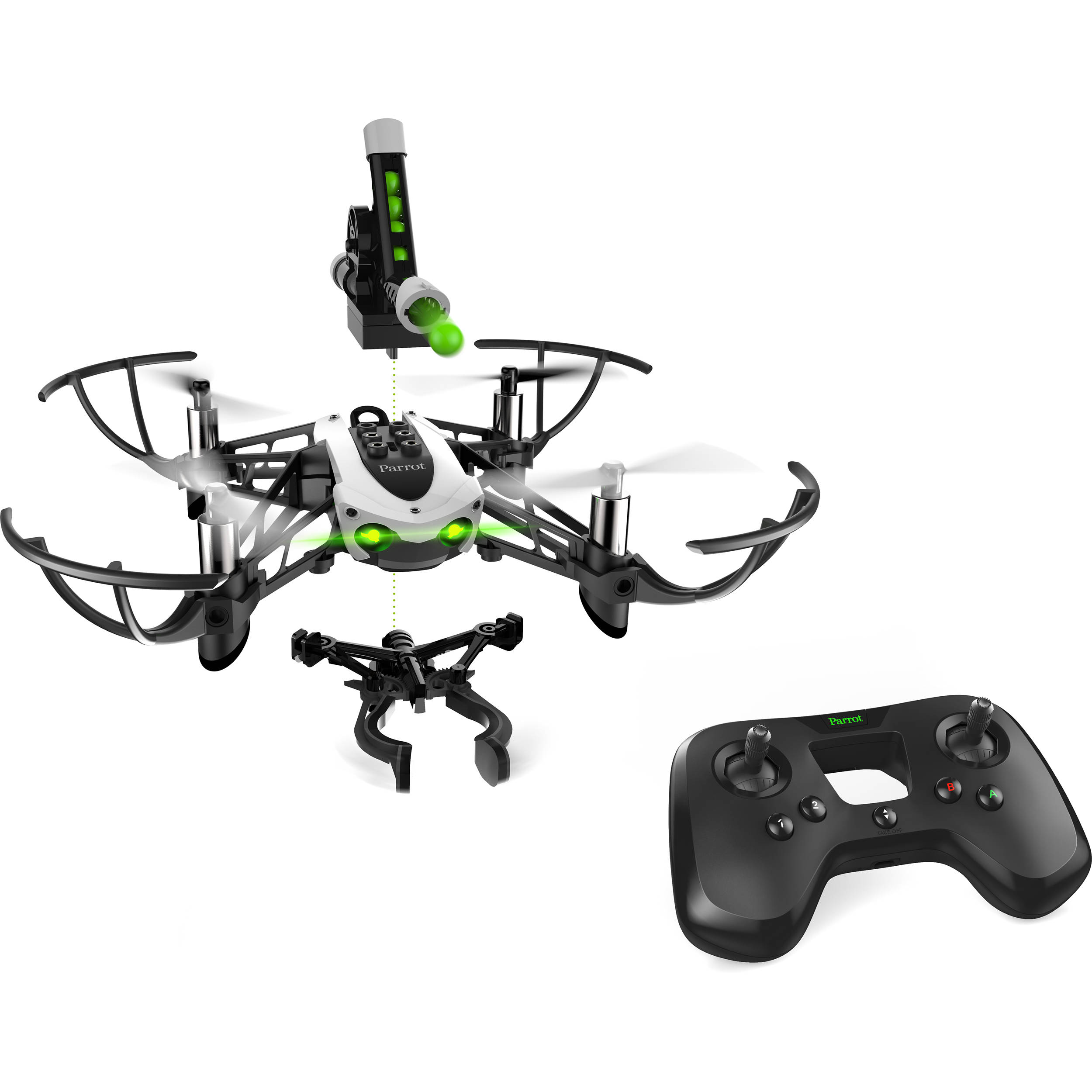 parrot mambo mission quadcopter kit pf727007aa b h photo video. Black Bedroom Furniture Sets. Home Design Ideas