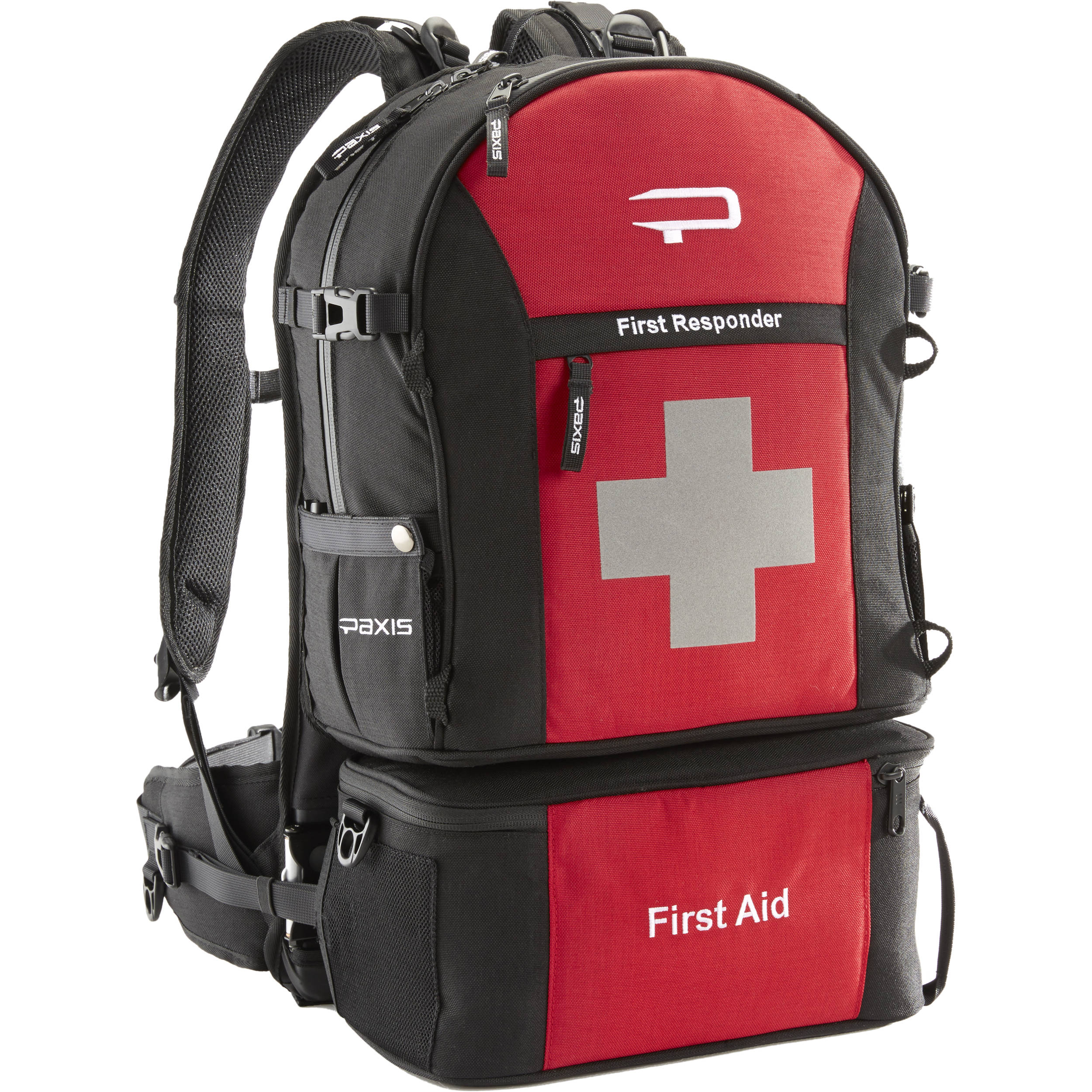 PAXIS First Responder Backpack Red FR20101 BampH Photo Video