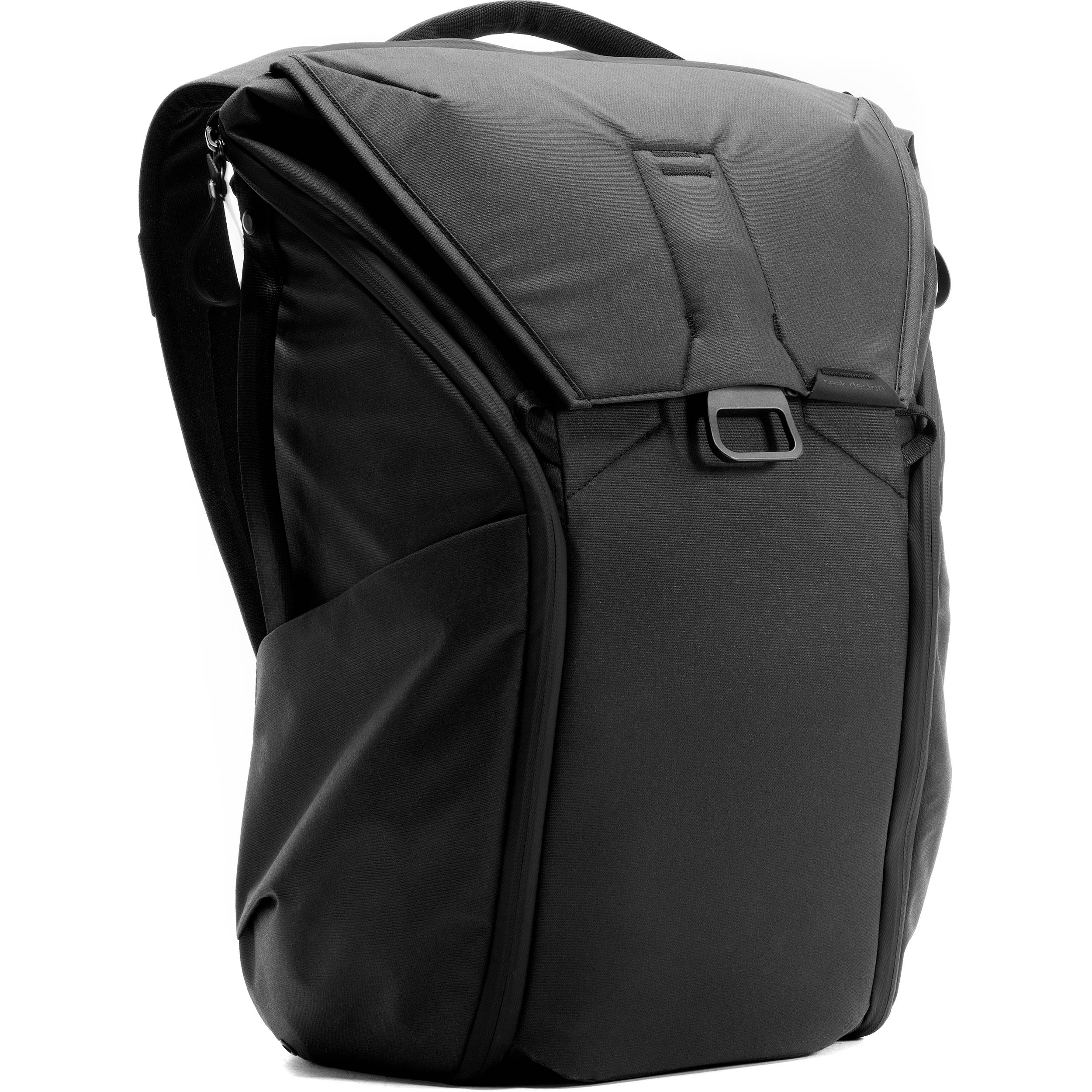 00625f29ce4 Peak Design Everyday Backpack (20L, Black) BB-20-BK-1 B&H Photo