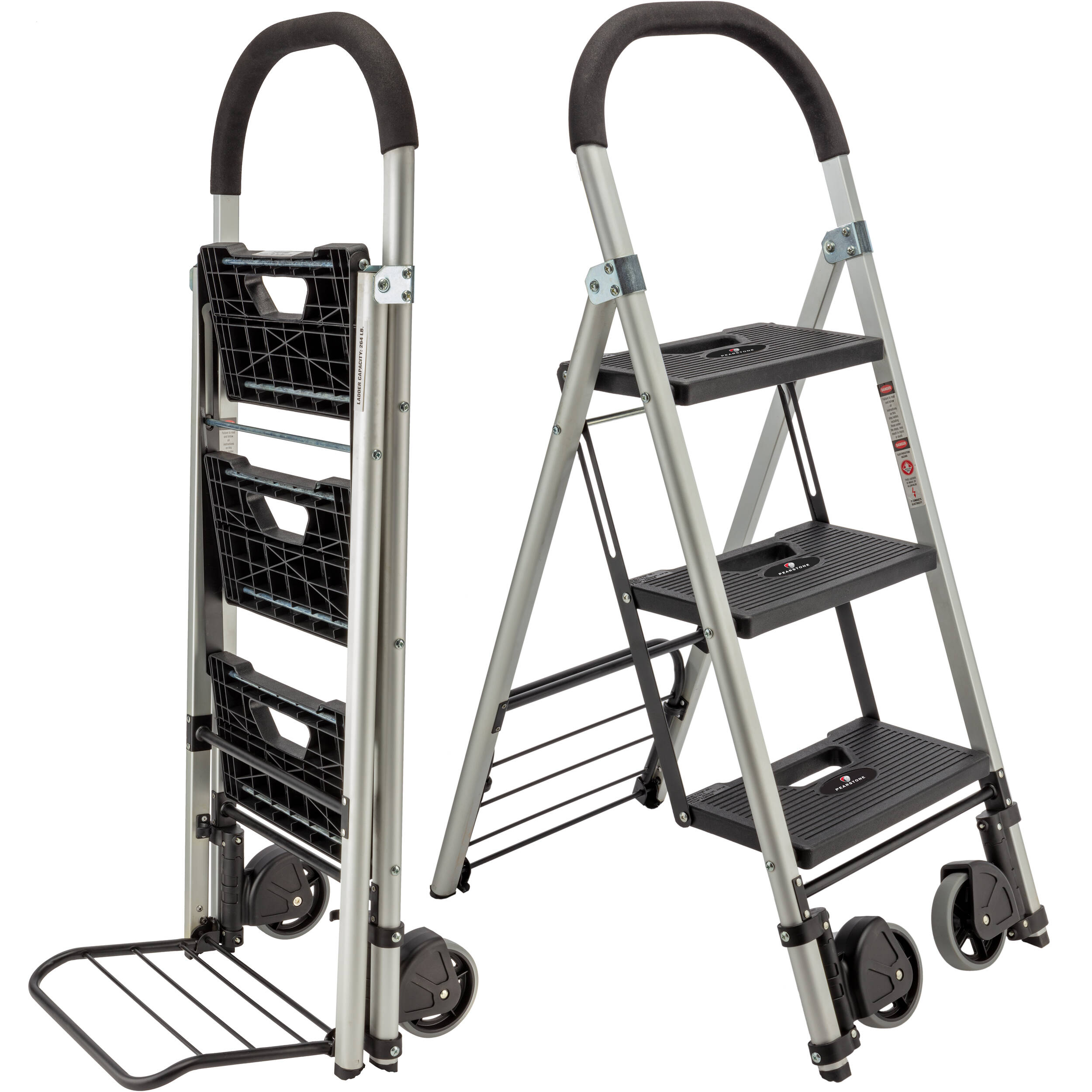 Pearstone Psl 3s 3 Step Hd Photographers Ladder Psl 3s B Amp H