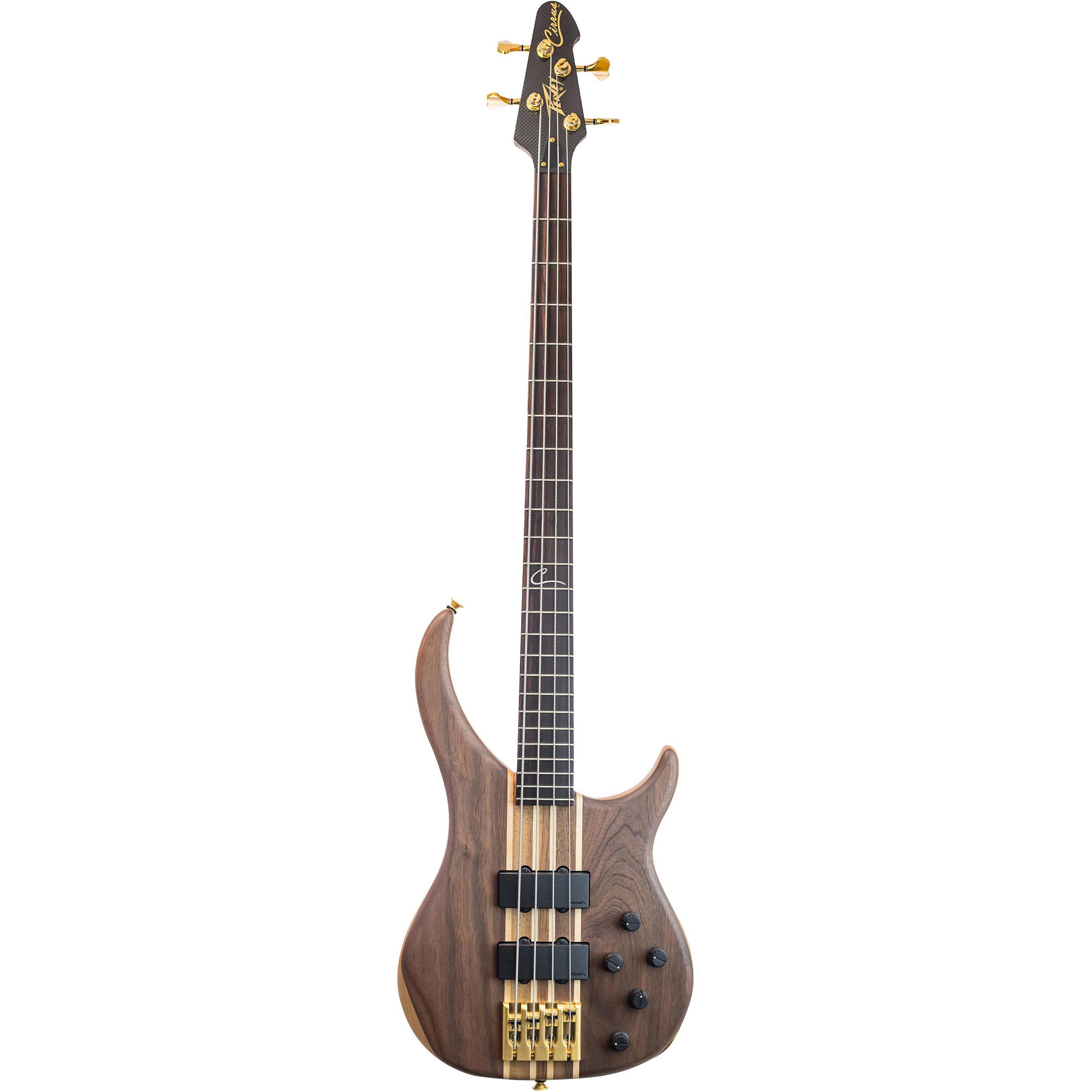 peavey cirrus 4 4 string electric bass guitar walnut 03026750. Black Bedroom Furniture Sets. Home Design Ideas
