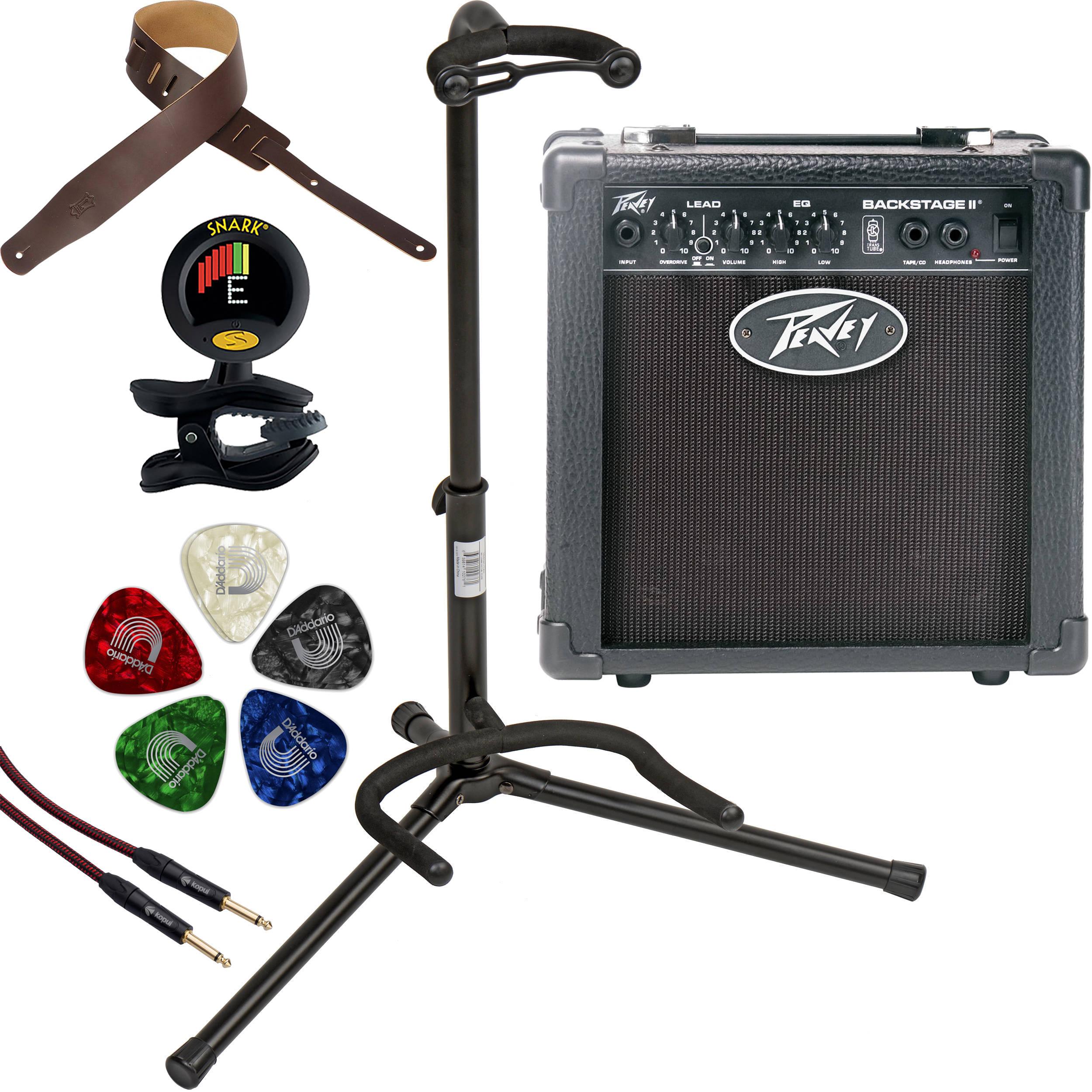 peavey backstage ii amp essentials for electric guitar b h. Black Bedroom Furniture Sets. Home Design Ideas