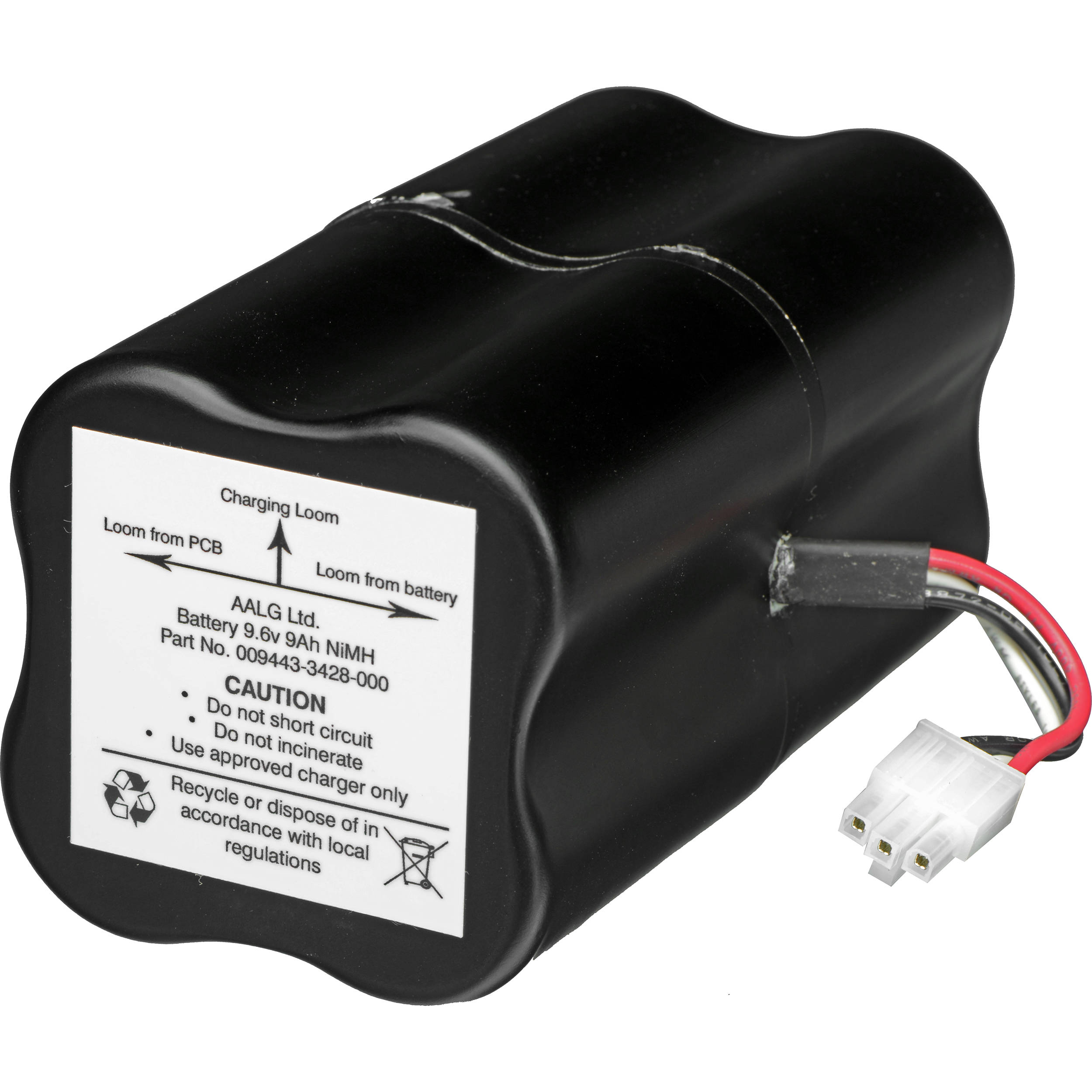 Pelican Battery Pack for 9440 Remote Area 009446-3429-000 B&H