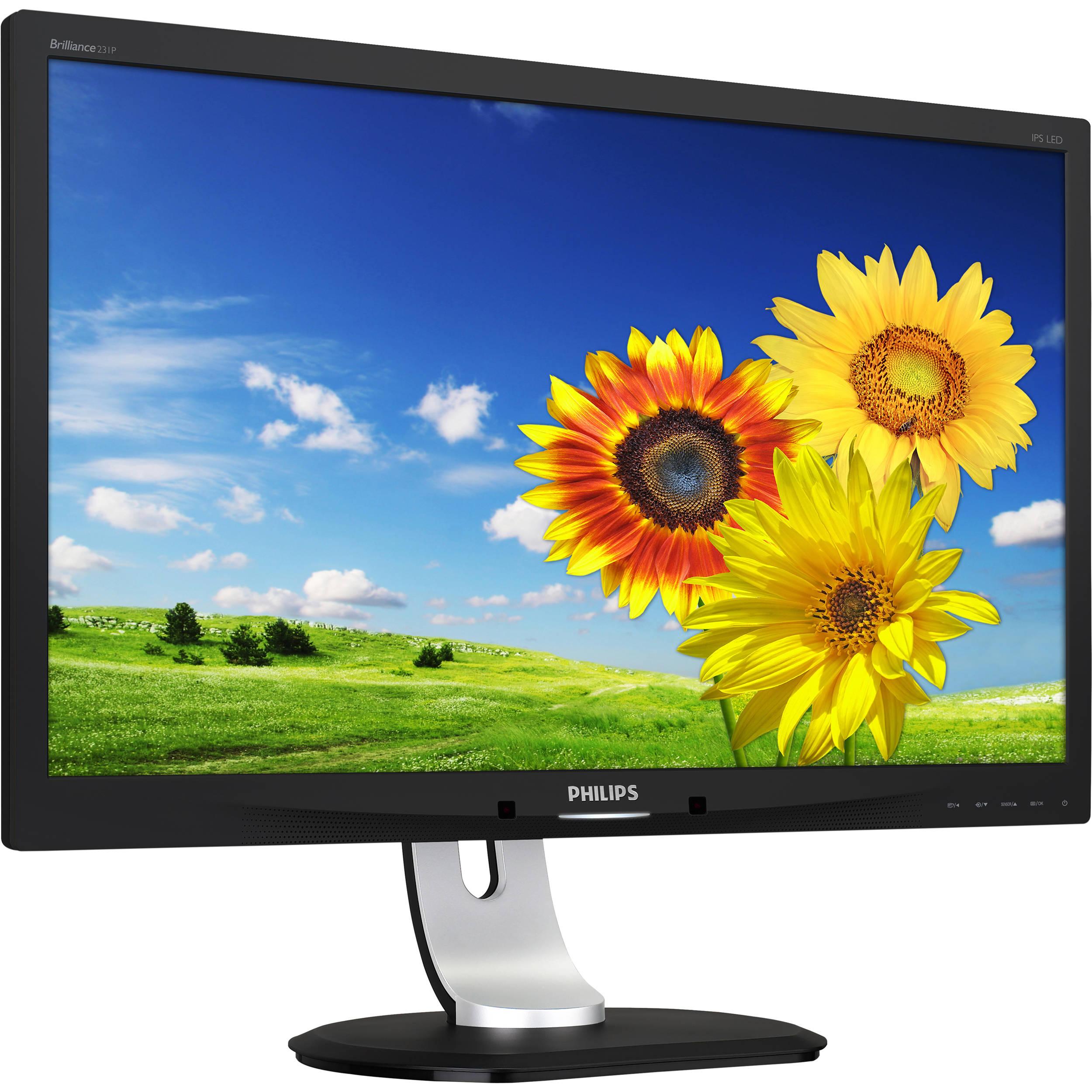 philips 231p4qupeb 23 16 9 ips monitor 231p4qupeb b h