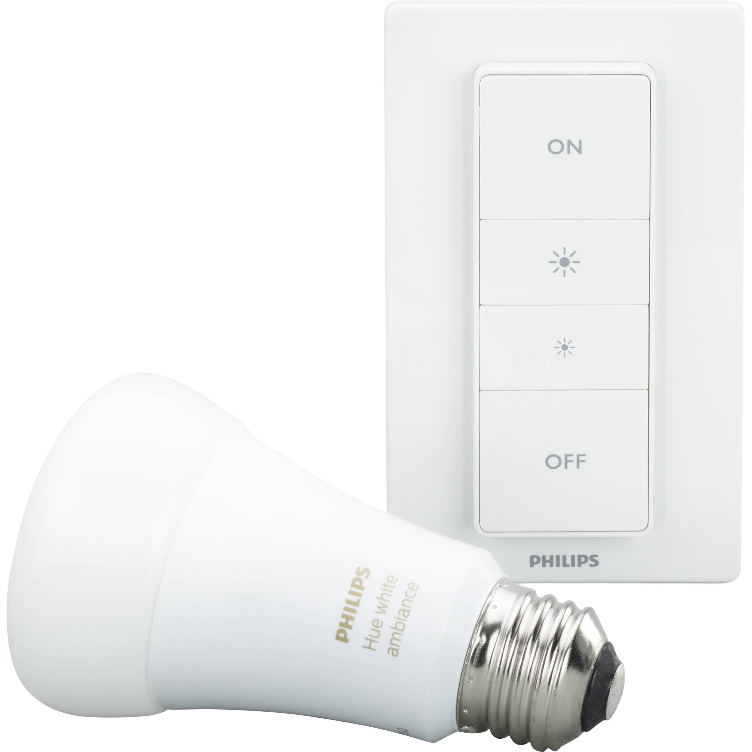 philips hue a19 recipe kit white ambiance 466706 b h photo. Black Bedroom Furniture Sets. Home Design Ideas