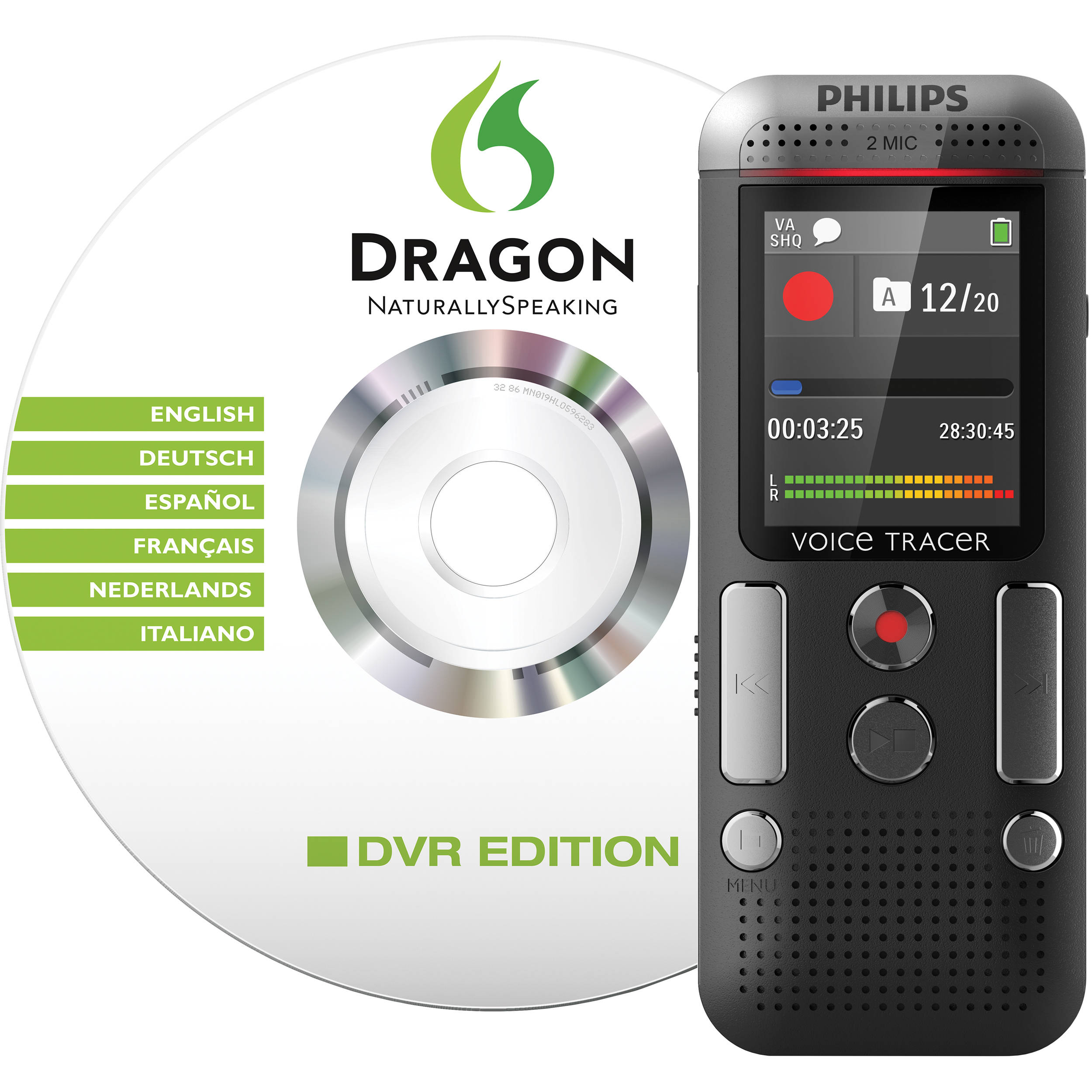 Philips Dvt Digital Voice