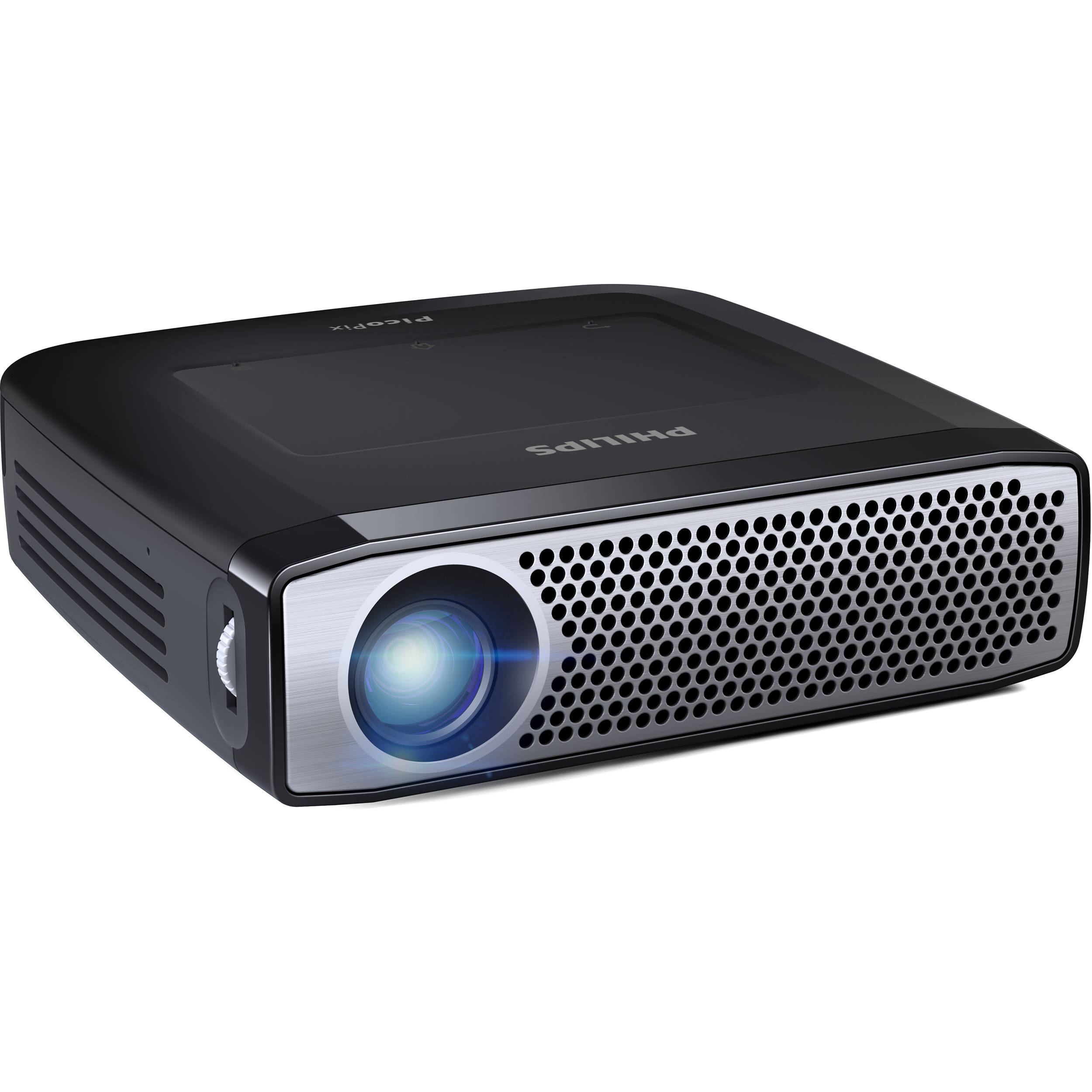 Used philips picopix ppx4935 350 lumen hd dlp pico ppx4935 b h for Hd pico projector
