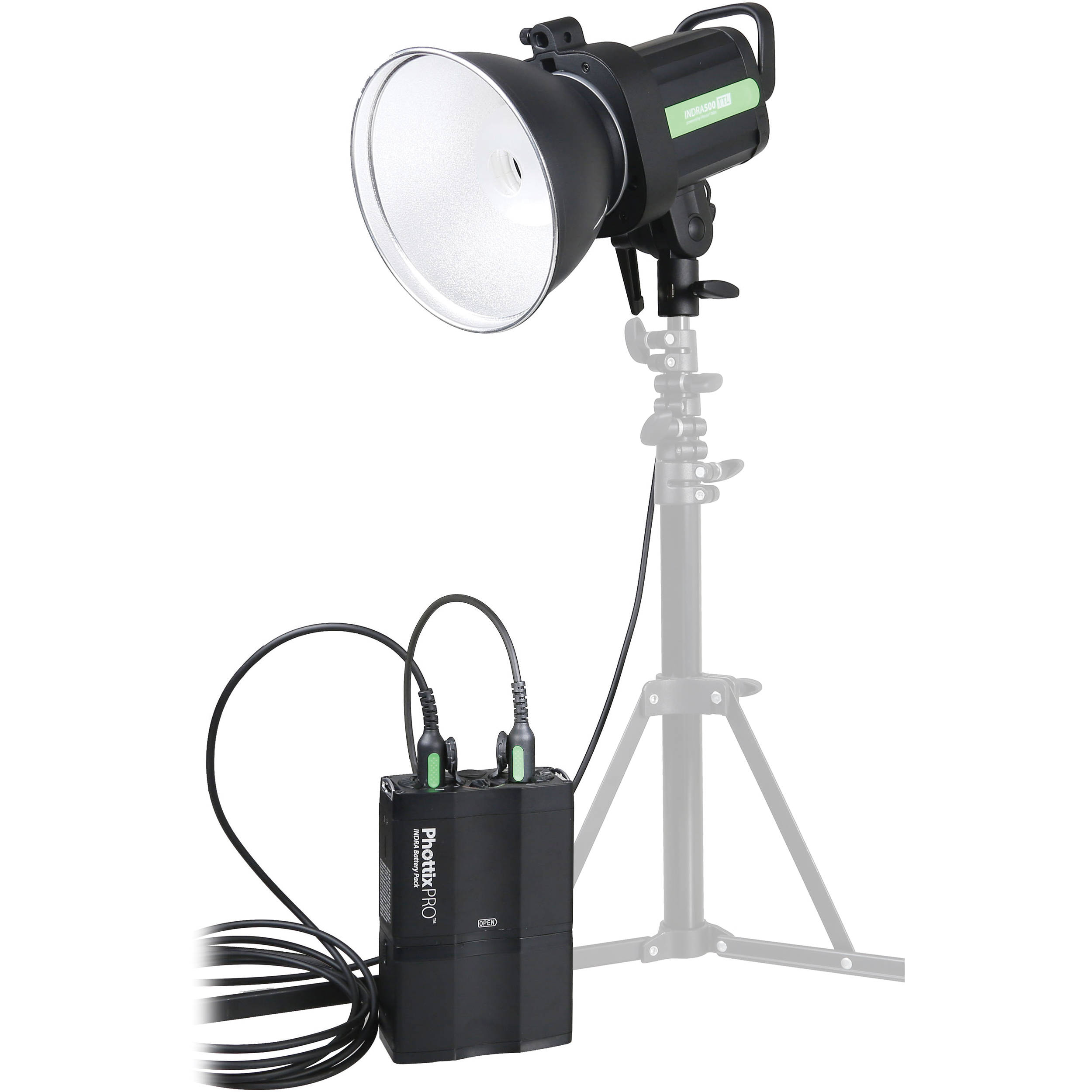 phottix indra500 ttl battery powered studio light ph00307 b h