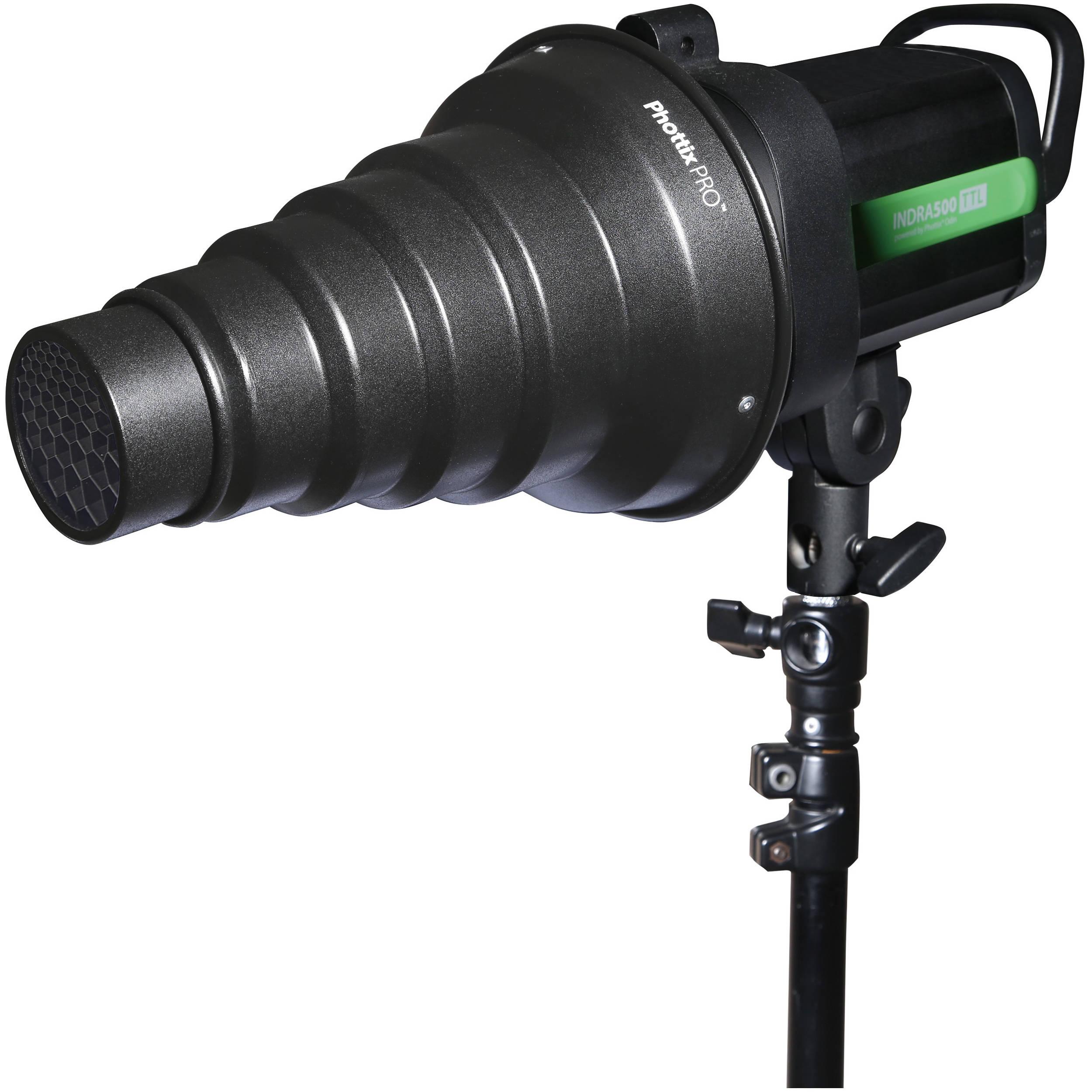 Honl Photo Speed Snoot ® MK2 / Convertible Snoot / Reflector / Softbox