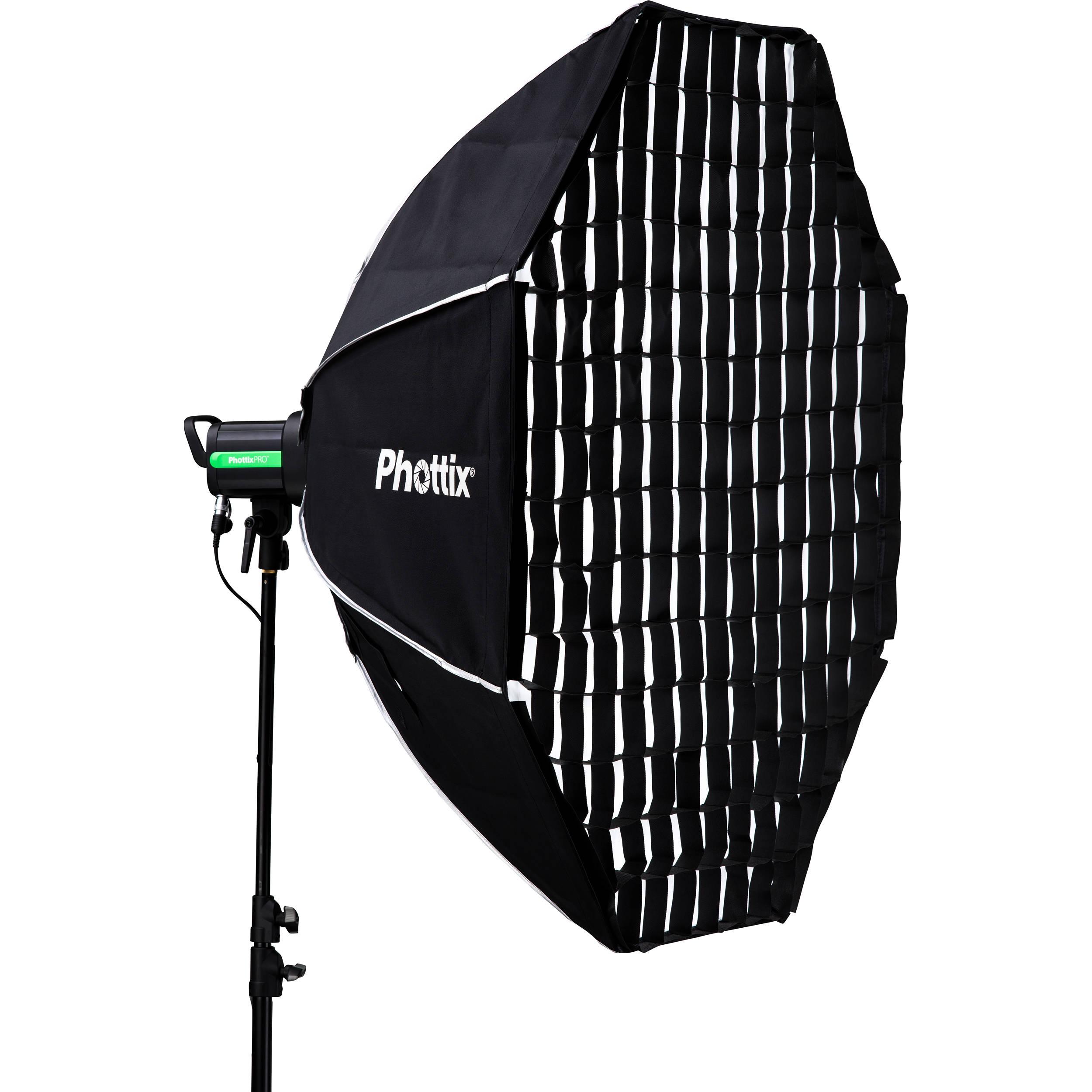 "16 Rod Octagon Grid: Phottix Solas Octagon Softbox (48"") PH82616 B&H Photo Video"