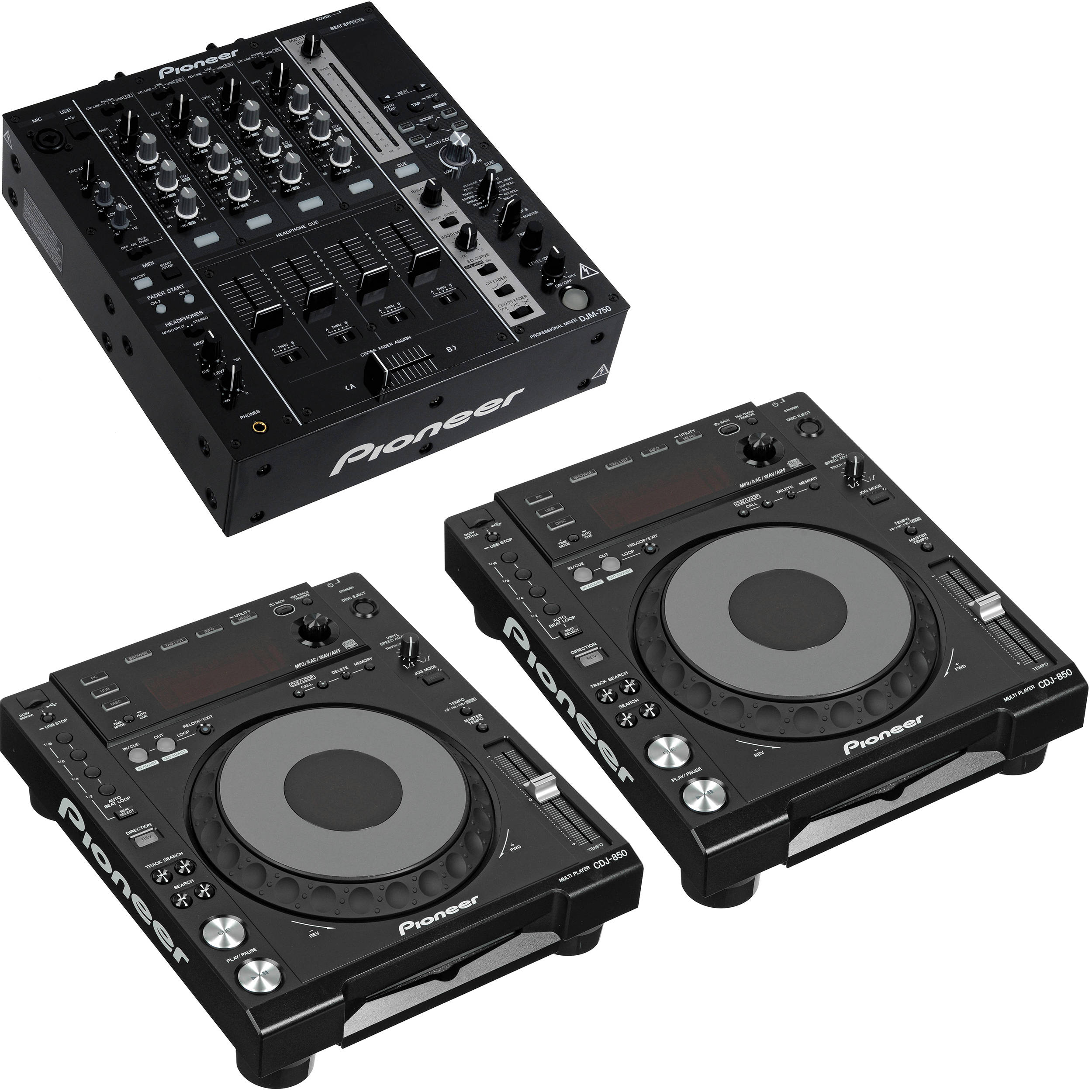 Pioneer CDJ-850-W DJ Deck Drivers Windows