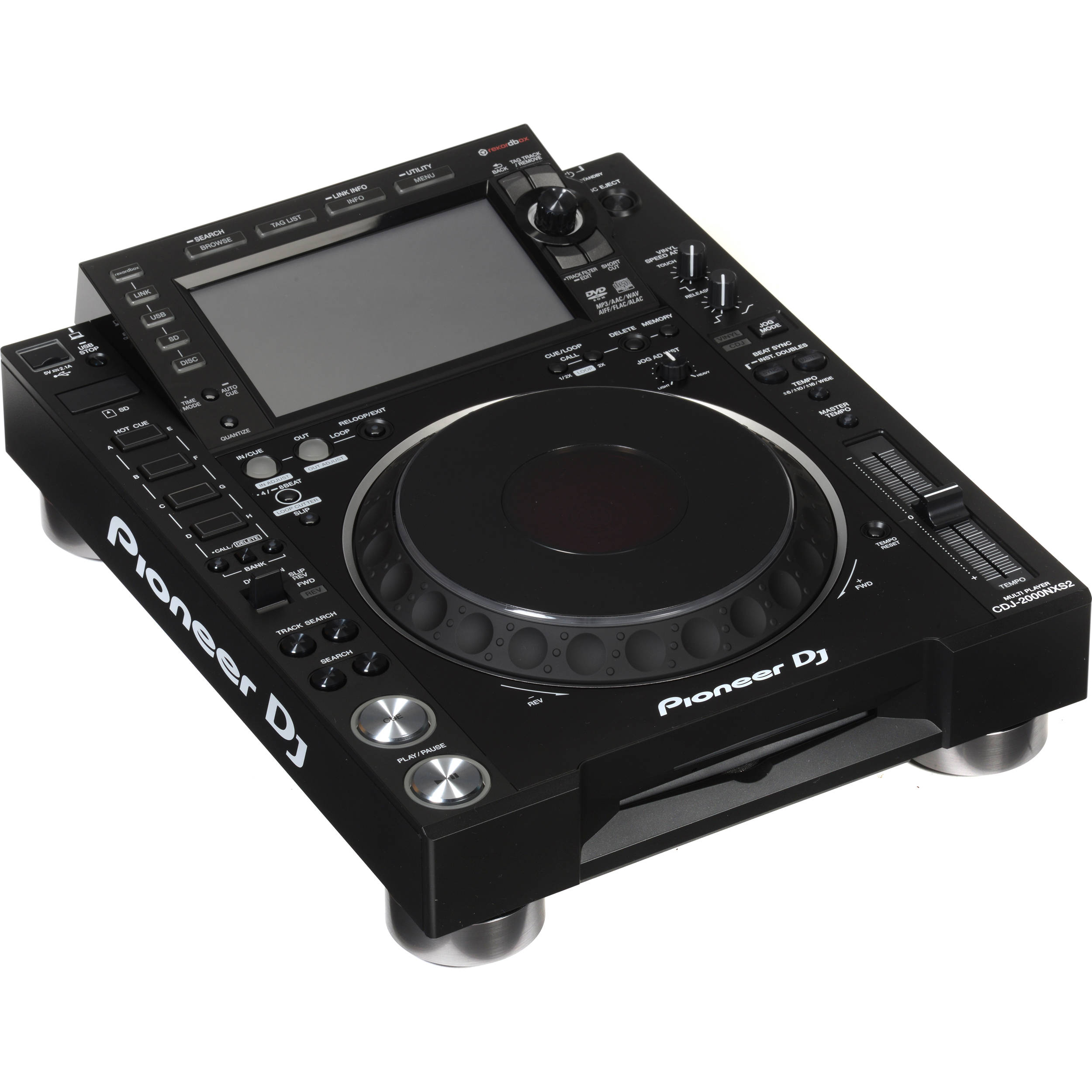 Pioneer CDJ-2000NXS2 DJ Player Driver Download (2019)