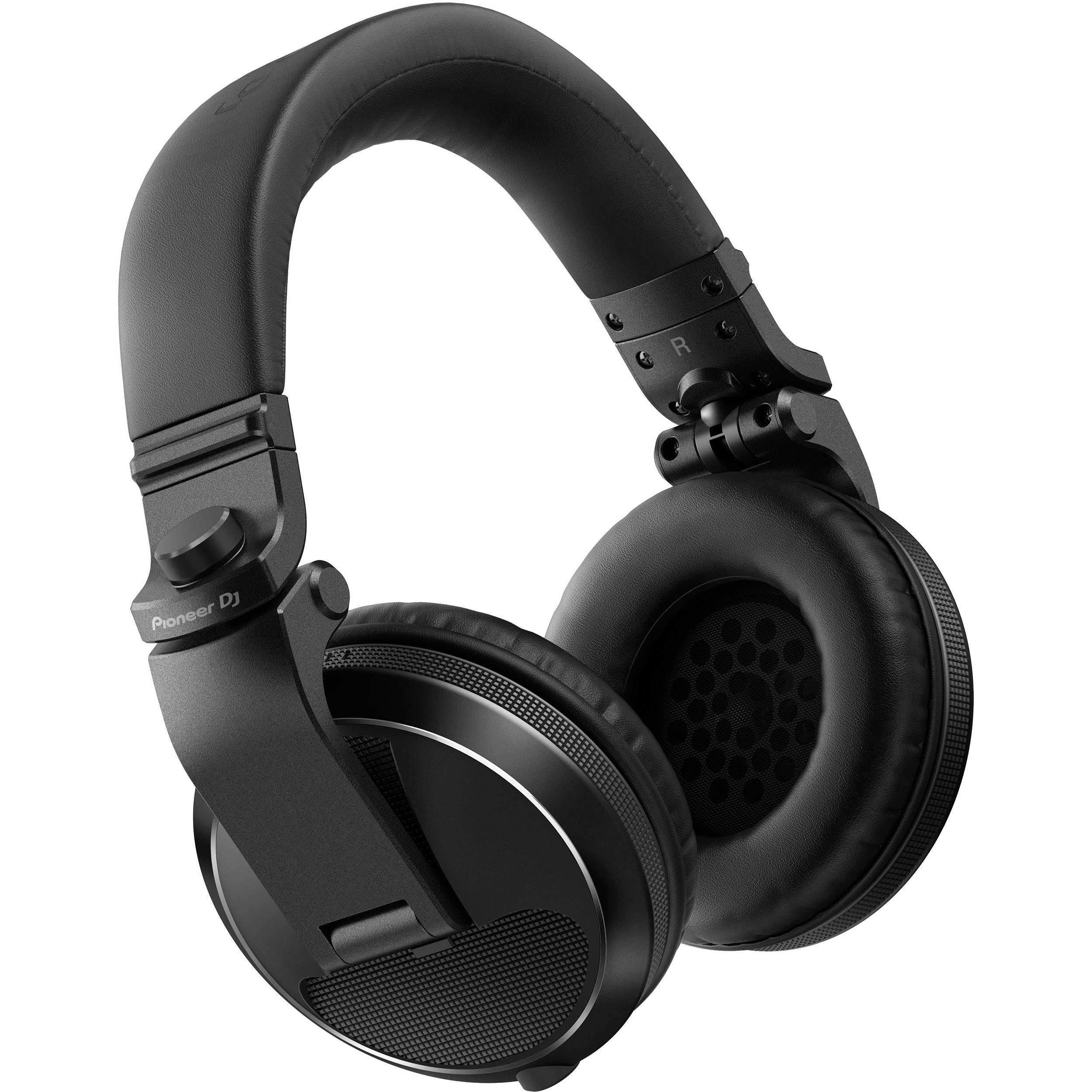 Pioneer Dj Hdj X5 Over Ear Dj Headphones Black Hdj X5 K B Amp H